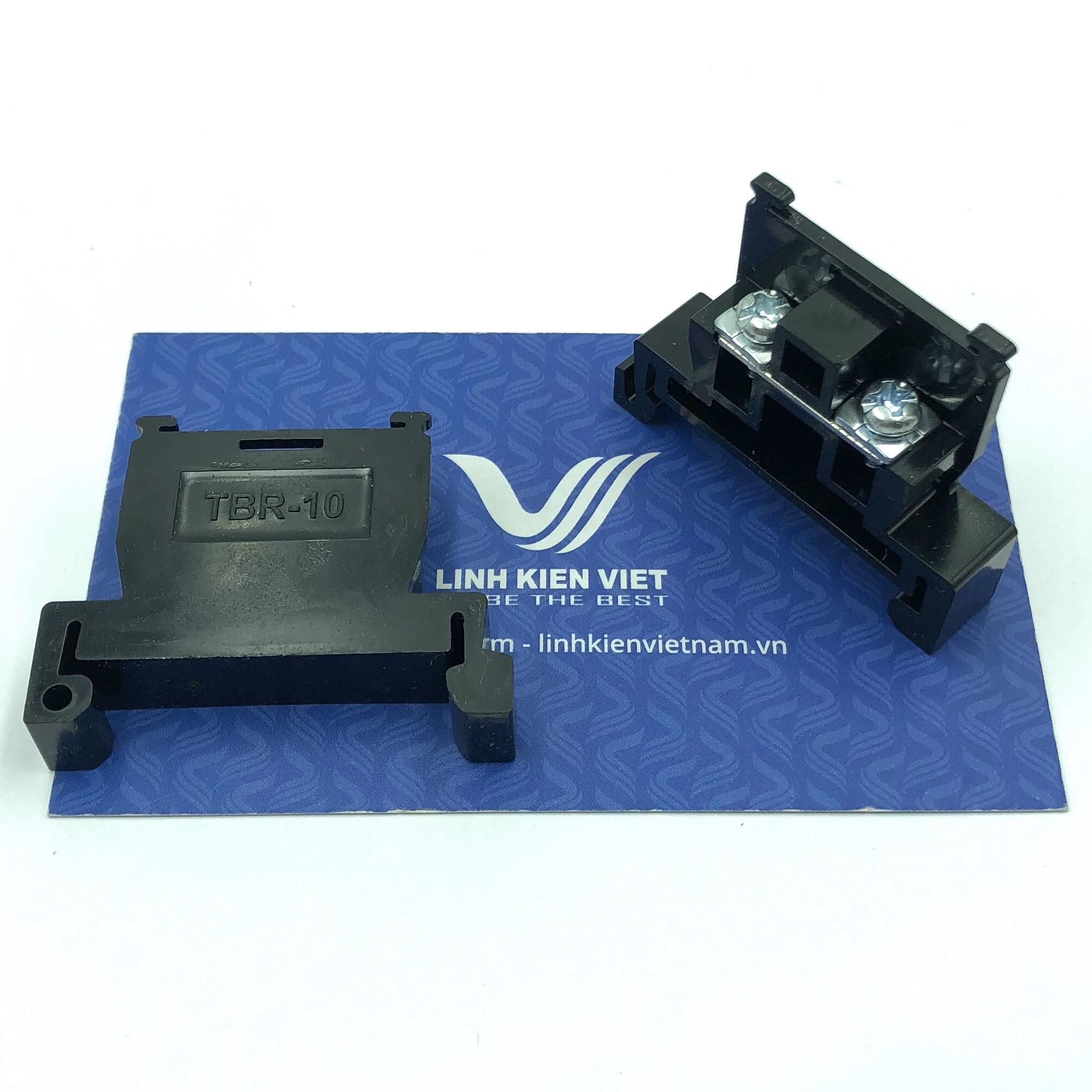 Cầu đấu dây đơn TBR-10 / X4H21