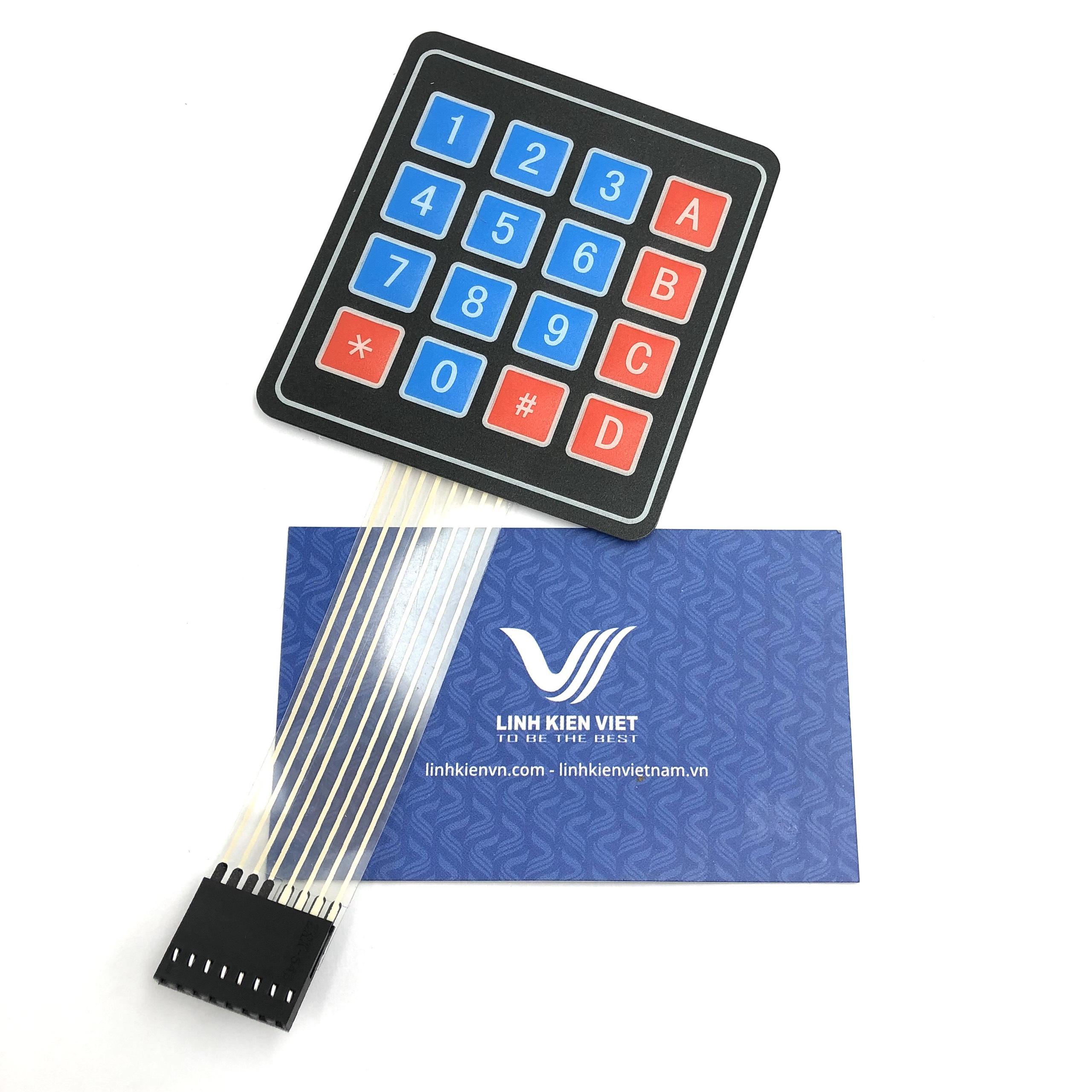 Bàn phím ma trận số 4x4 keypad  - i3H21