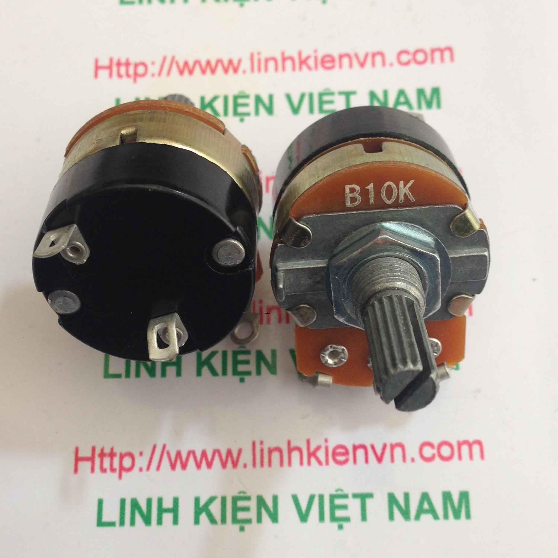 Chiết áp công tắc WH138 10K 2W / Biến Trở Công Tắc 10K-2W - A5H13