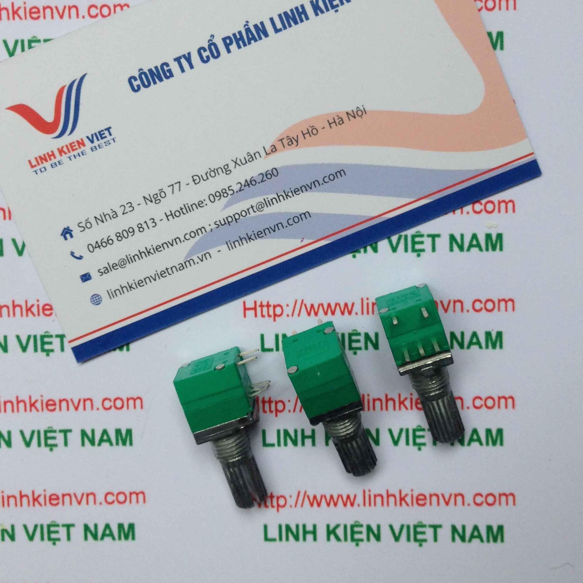 Chiết áp công tắc RV097NS 50K / Chiết áp 5 chân RV097NS 50K - G5H9