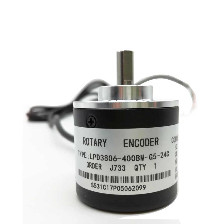 ENCODER 400 XUNG 2 PHA AB / 5-24V - KHO B