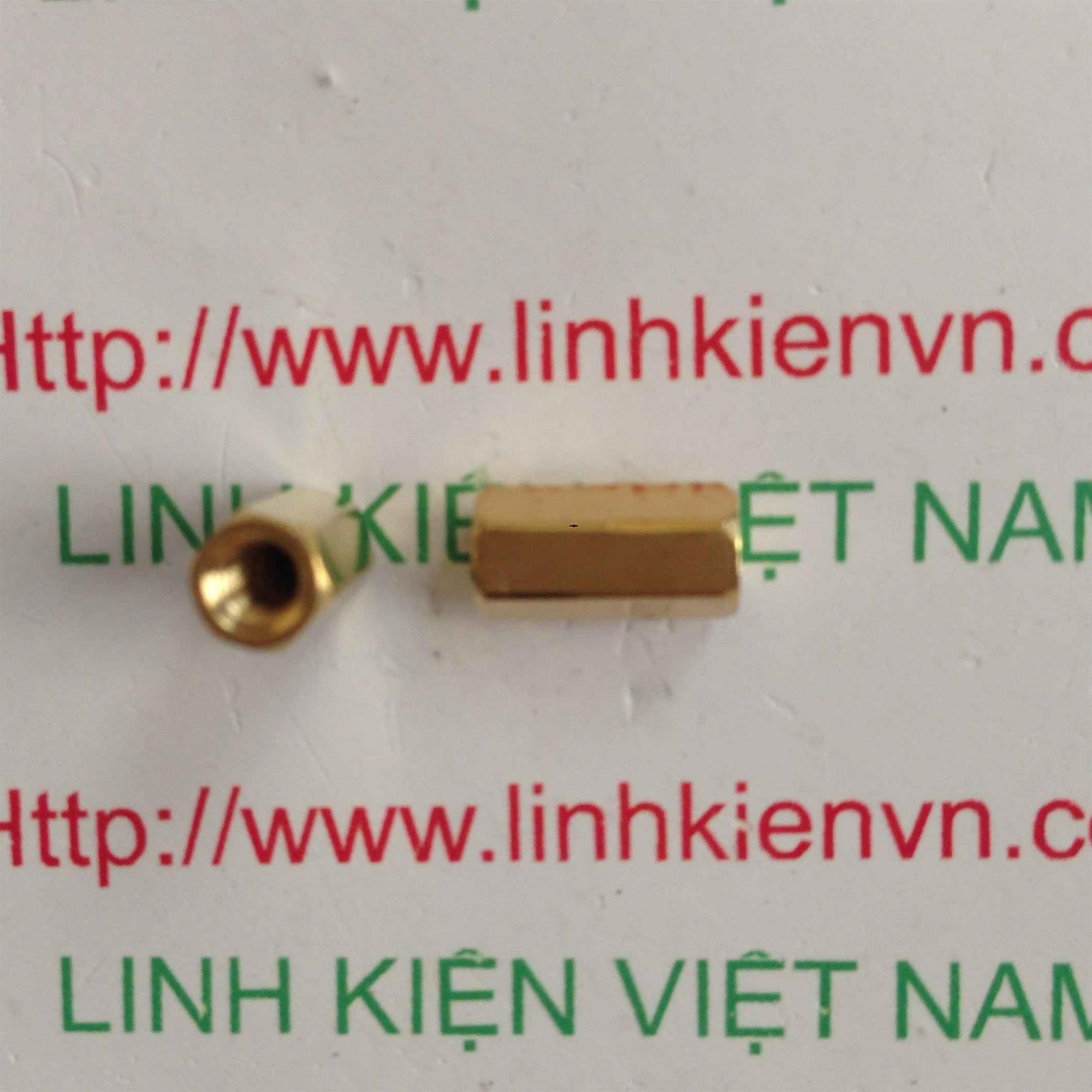 cọc đồng M3x10mm - i3H20 (KA2H4)