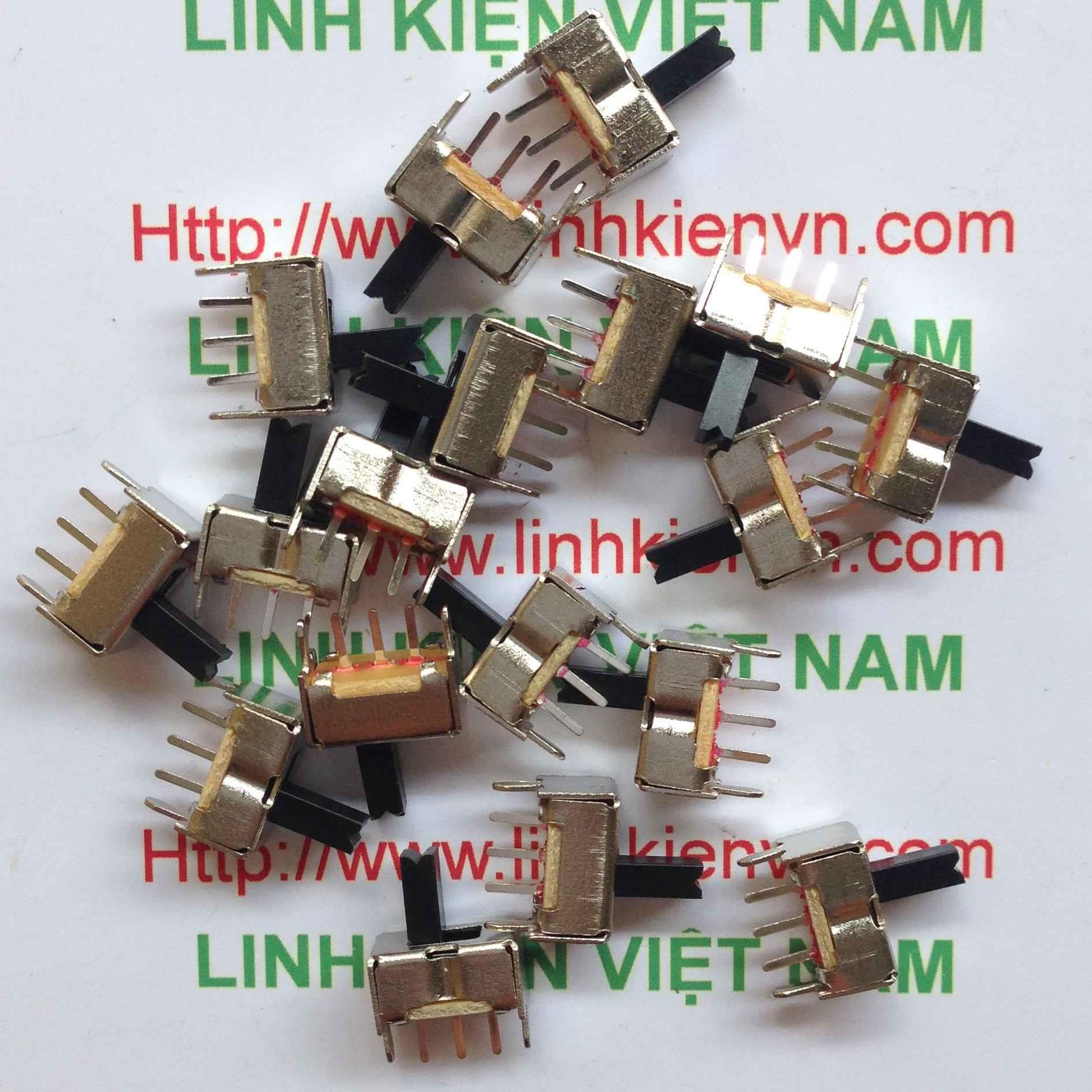 Công tắc gạt 5p 2.54mm - D3H3