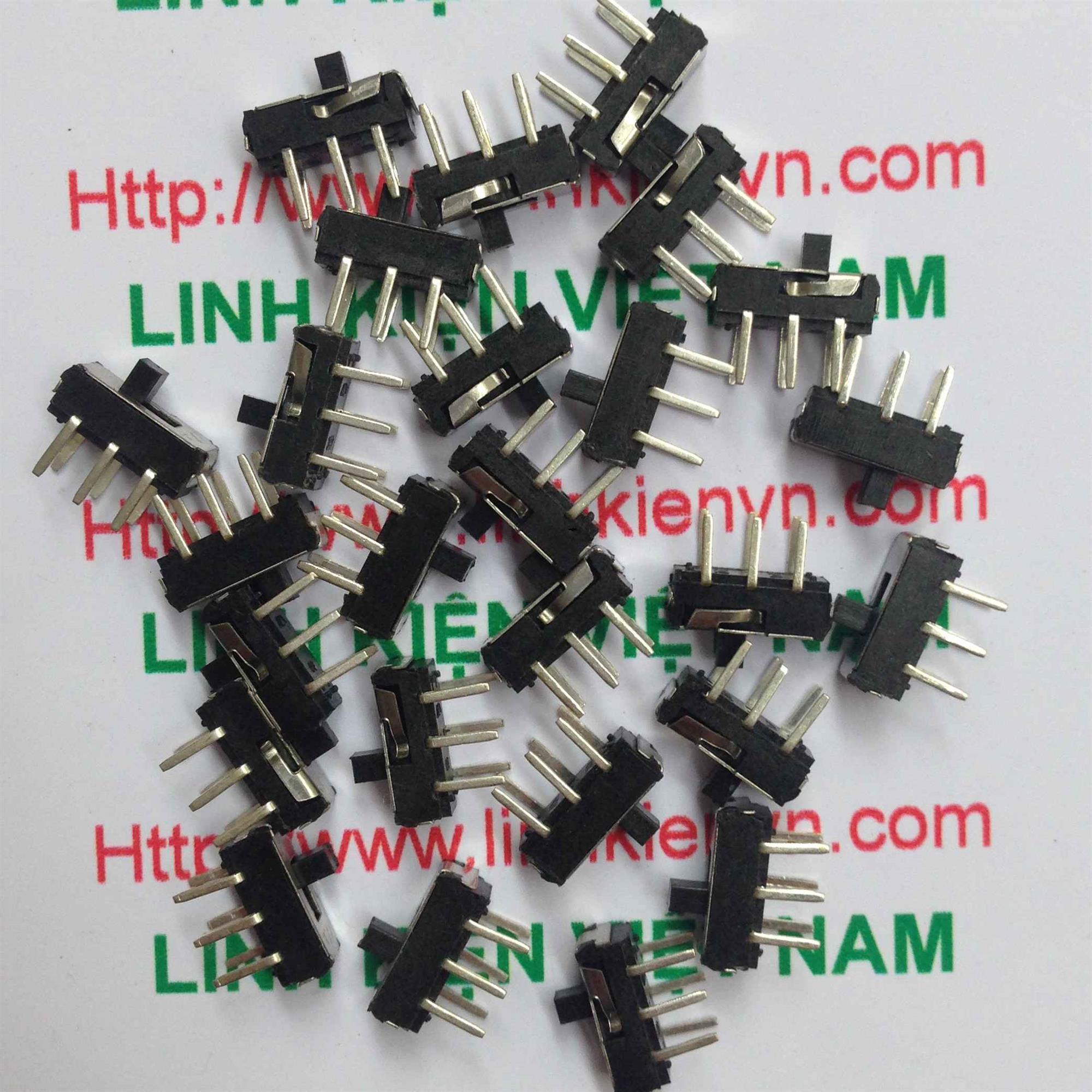 Công tắc gạt 6 chân 2.54mm/ Công tắc gạt 6 chân MS-22D16 - D3H2