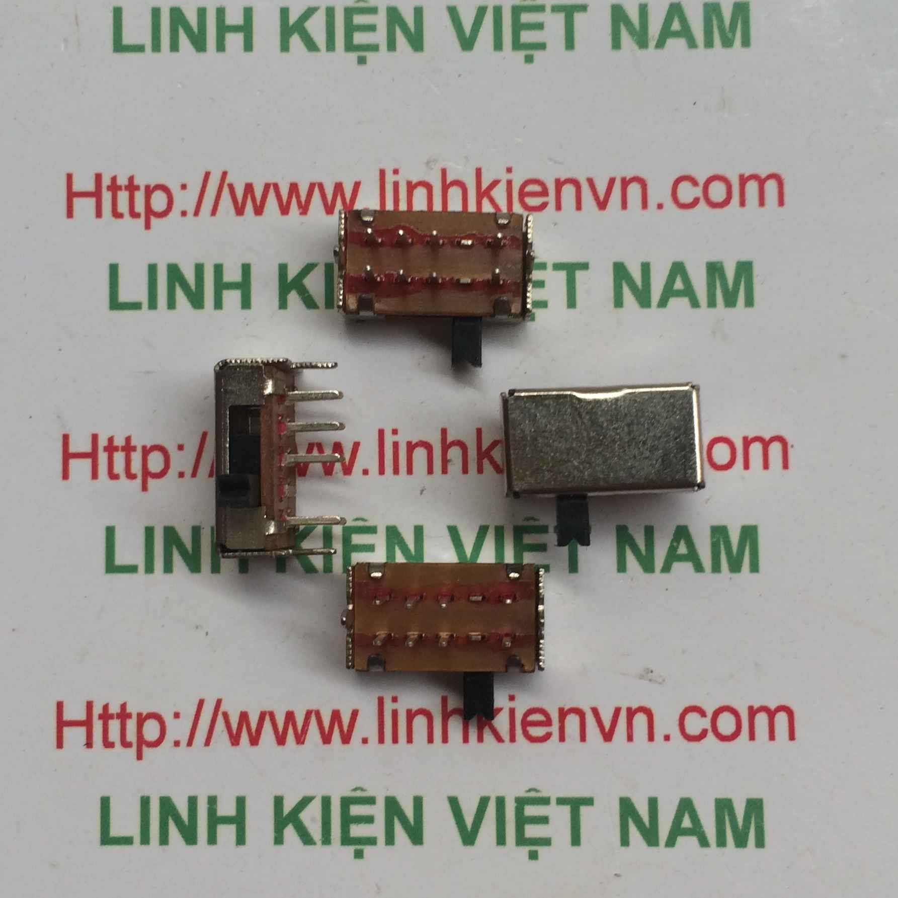 Công tắc gạt 8P / Công tắc gạt 8 pin SK-23D07(2P3T) - D3H4