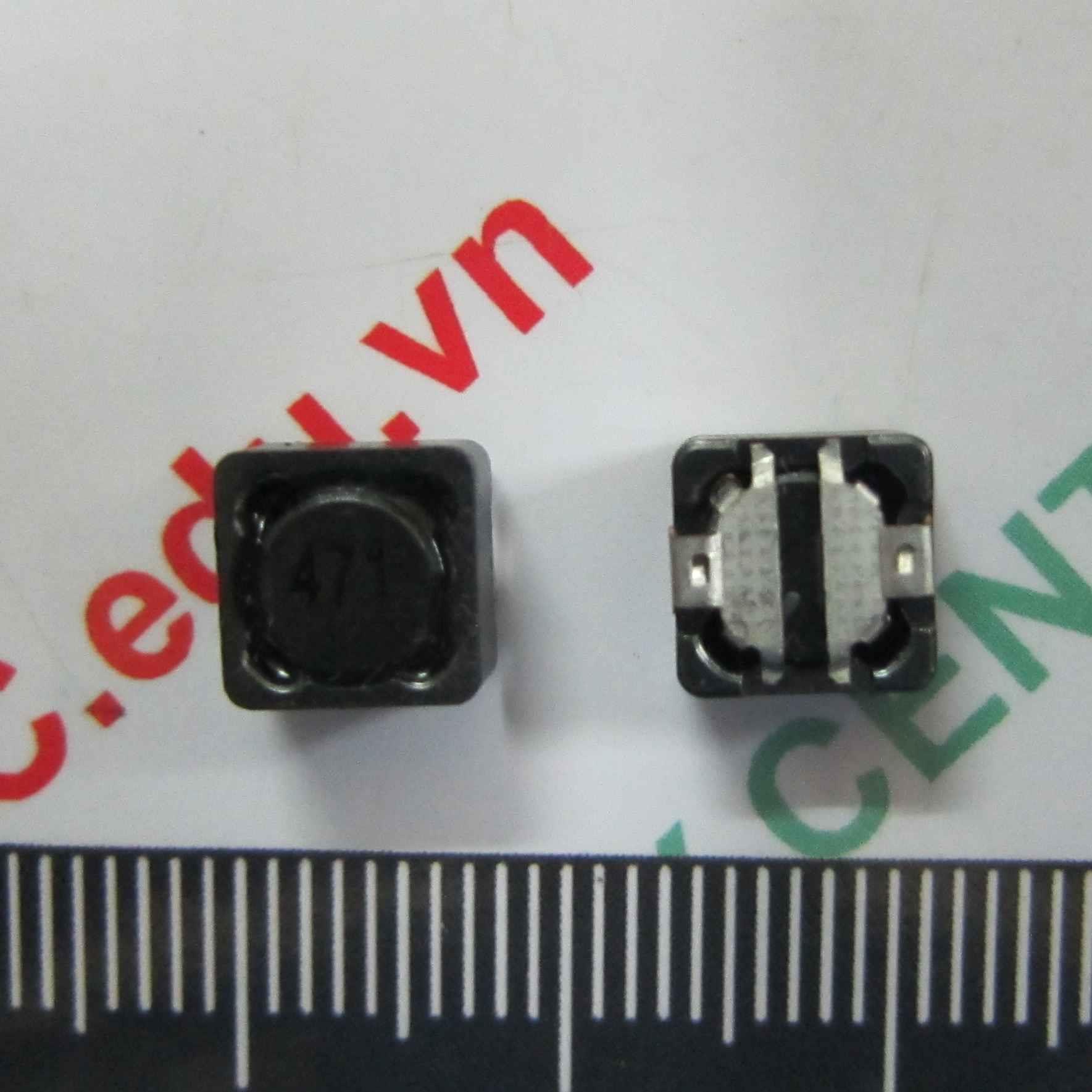 CUỘN CẢM SMD 100uH 7.4x7.4mm CD74R 0.4A  - B10H17