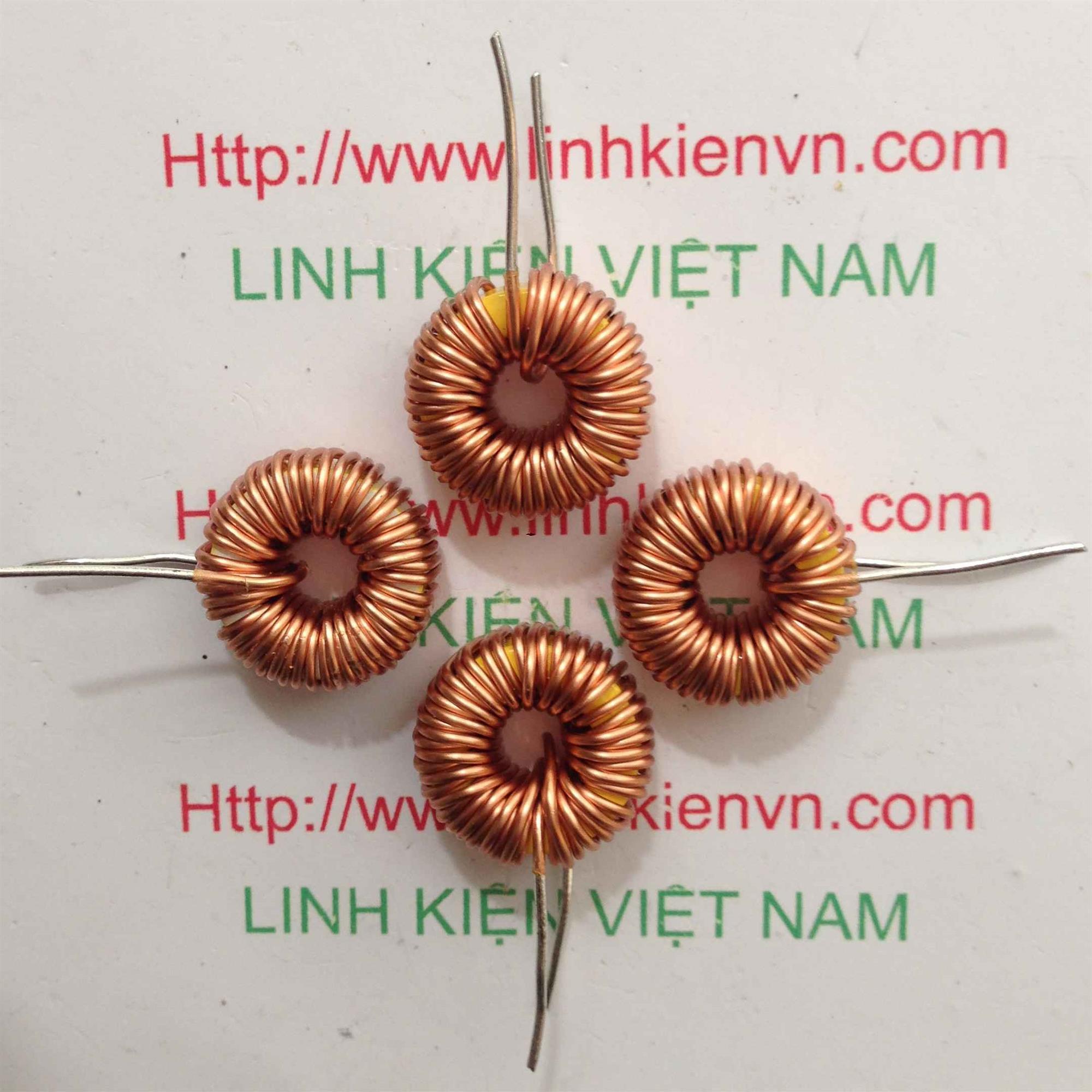 Cuộn cảm xuyến 100uH - 6A - K5H7