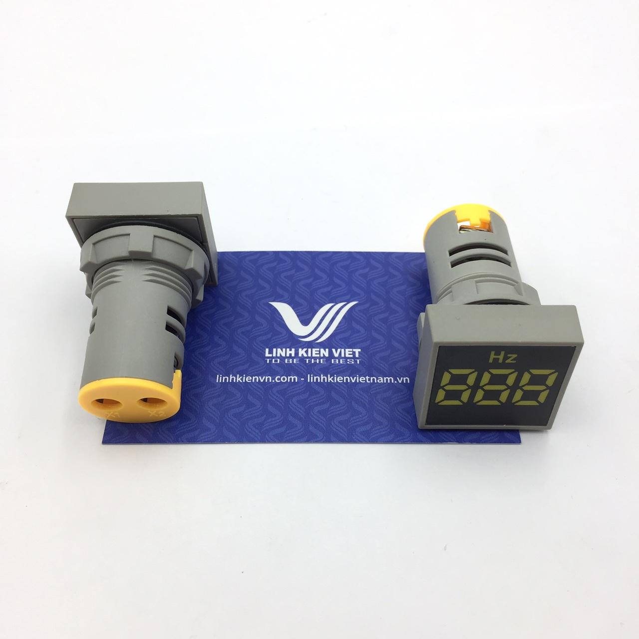Đồng hồ đo tần số AD101-22HzS màu vàng - S1H4