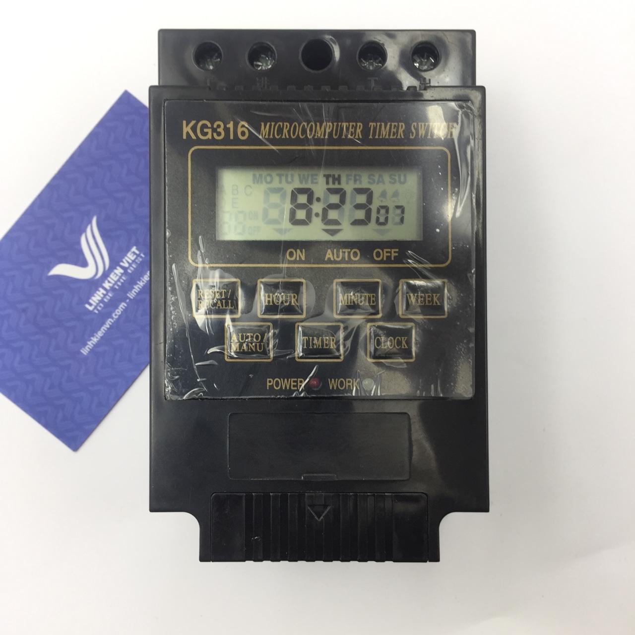 Bộ hẹn giờ tự động KG316T 30A - Kho