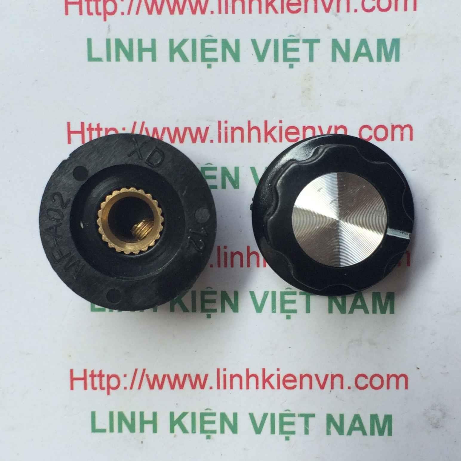 Đầu chụp công tắc MF-A02 / Núm Công tắc WTH118 6mm / Đầu chụp chiết áp công tắc / Đầu chụp công tắc chọn - G4H16