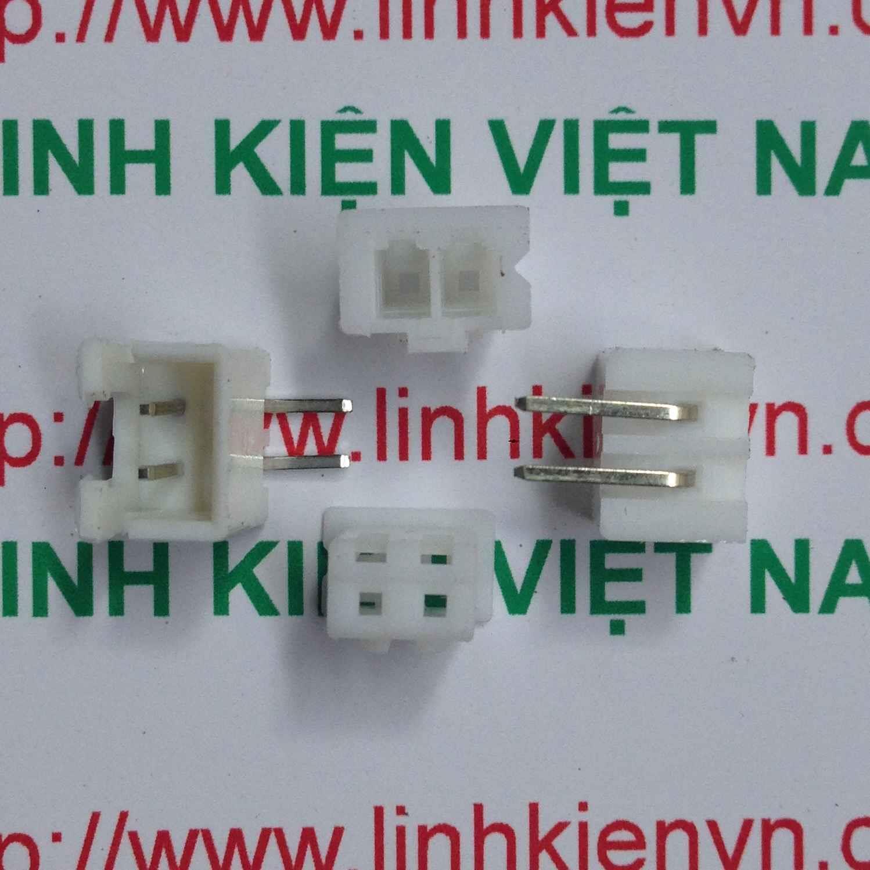 Đầu jack XH2.54 cong 2p - 2.54mm - D6H15