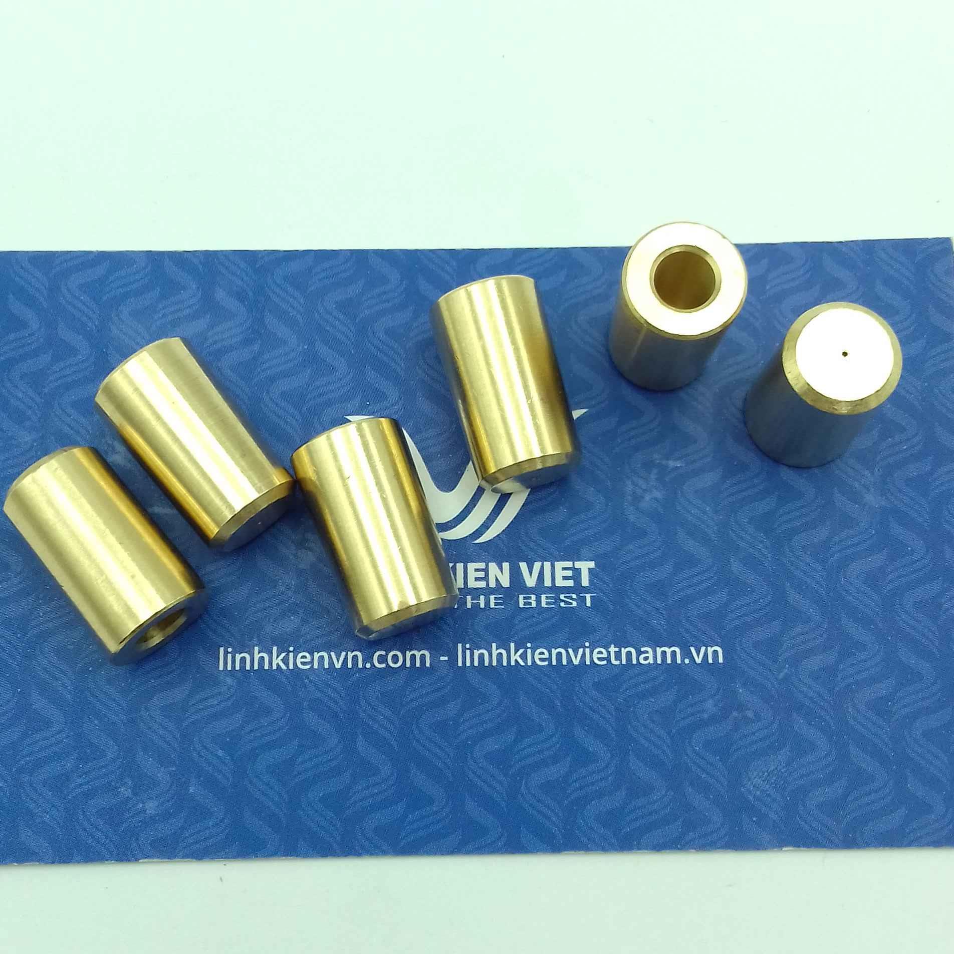 Đầu đồng chụp khoan JT0 B10 trục 5mm cho động cơ 775 - S5H17