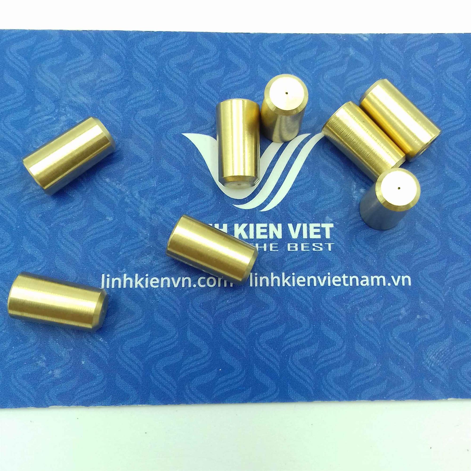 Đầu đồng chụp khoan JT0 B6 trục 3.17mm cho đầu khoan 0.6-4mm - S4H4