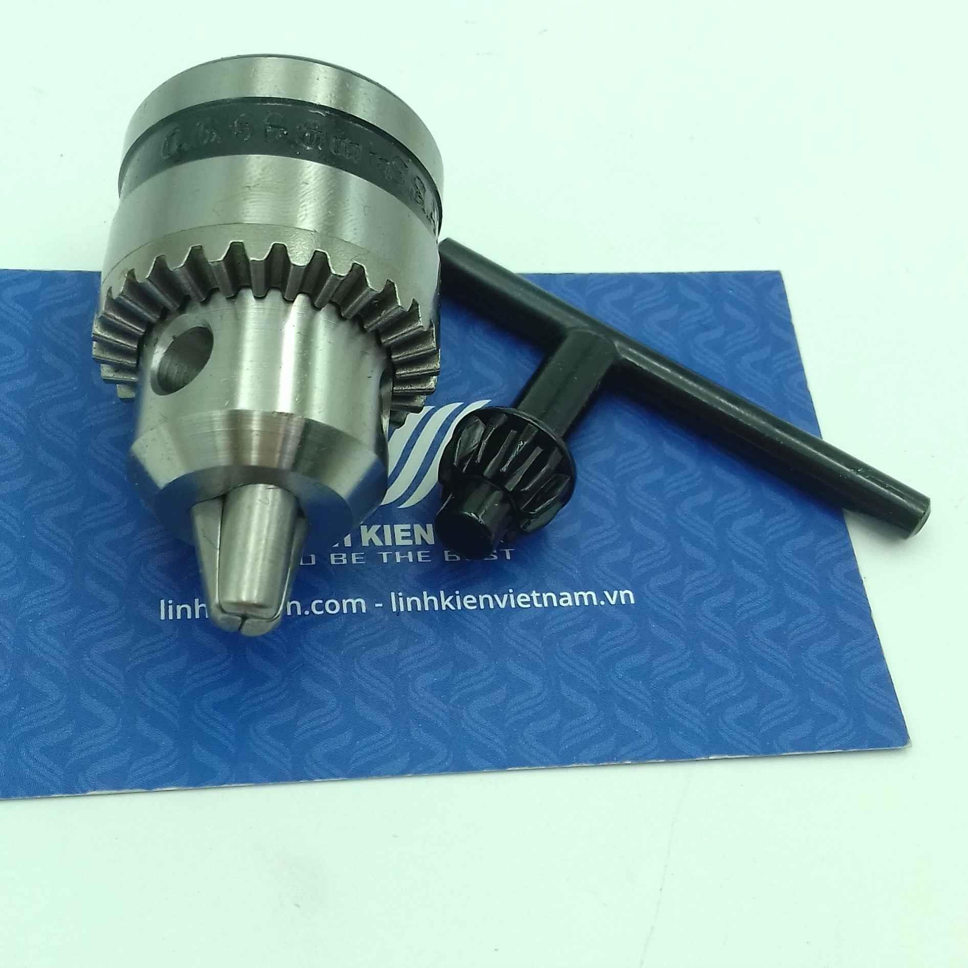 đầu kẹp mũi khoan 0.6-6mm / trục giữ mũi khoang / Đầu khoan mạch 0.6-6.5mm - i5H13