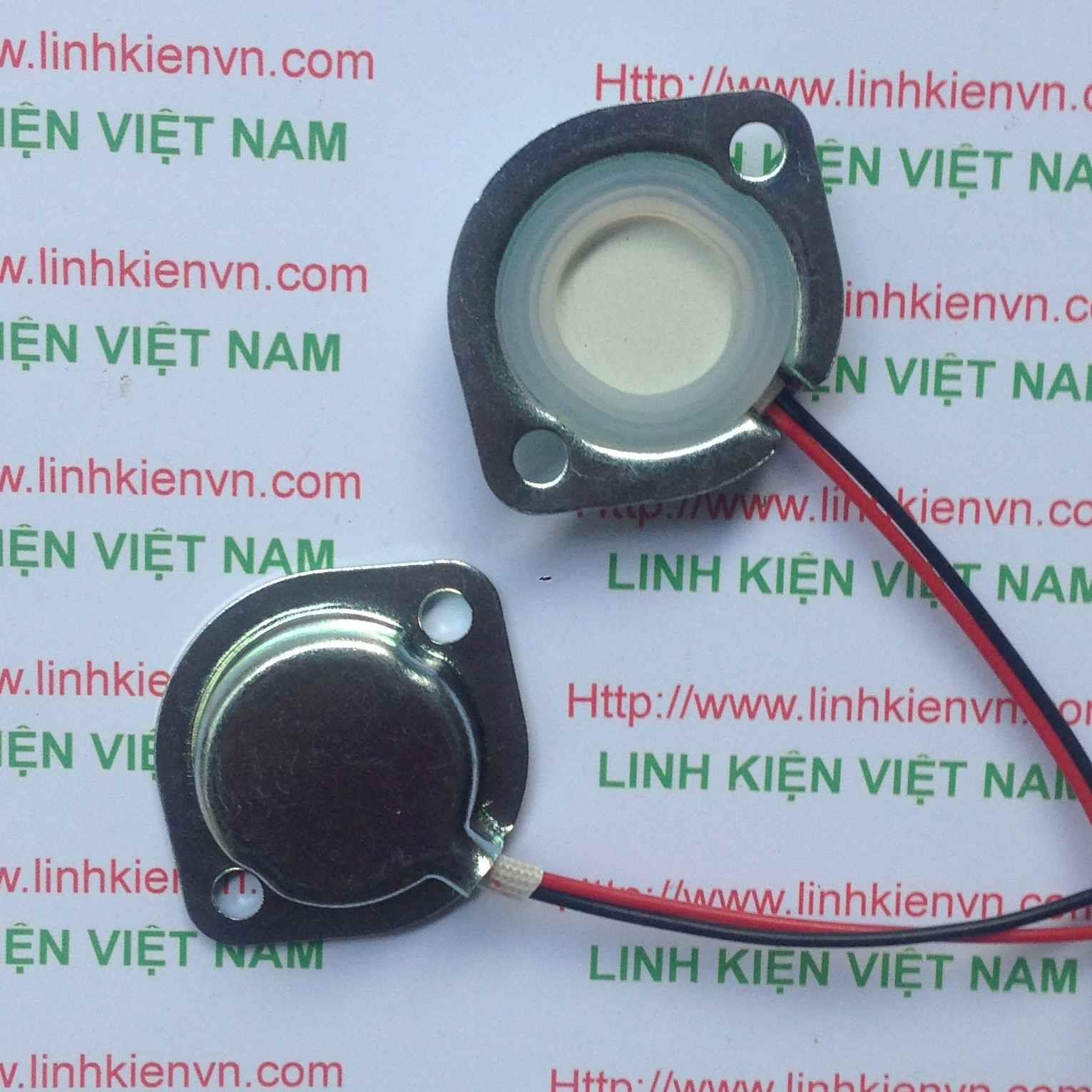 Đầu phun sương 20mm có vỏ bọc sắt / Loa siêu âm / Loa phun sương / Loa thạch anh / Loa siêu âm phun sương 1.7 MHZ - D2H20+D1H20