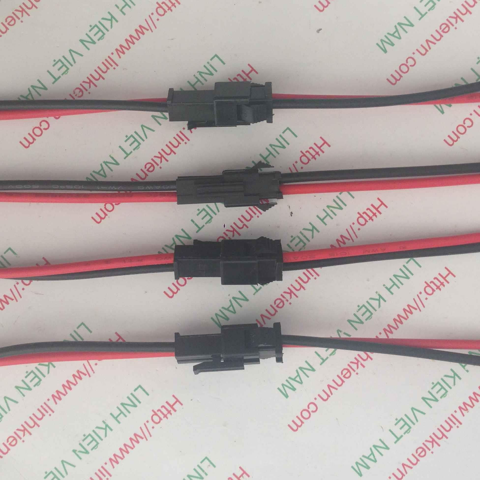 Dây kết nối 2 chân SM 2P 30cm - B9H20