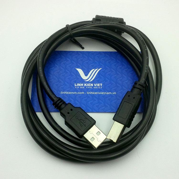 Dây USB Máy In / Cáp USB vuông máy in màu đen - GIÁ