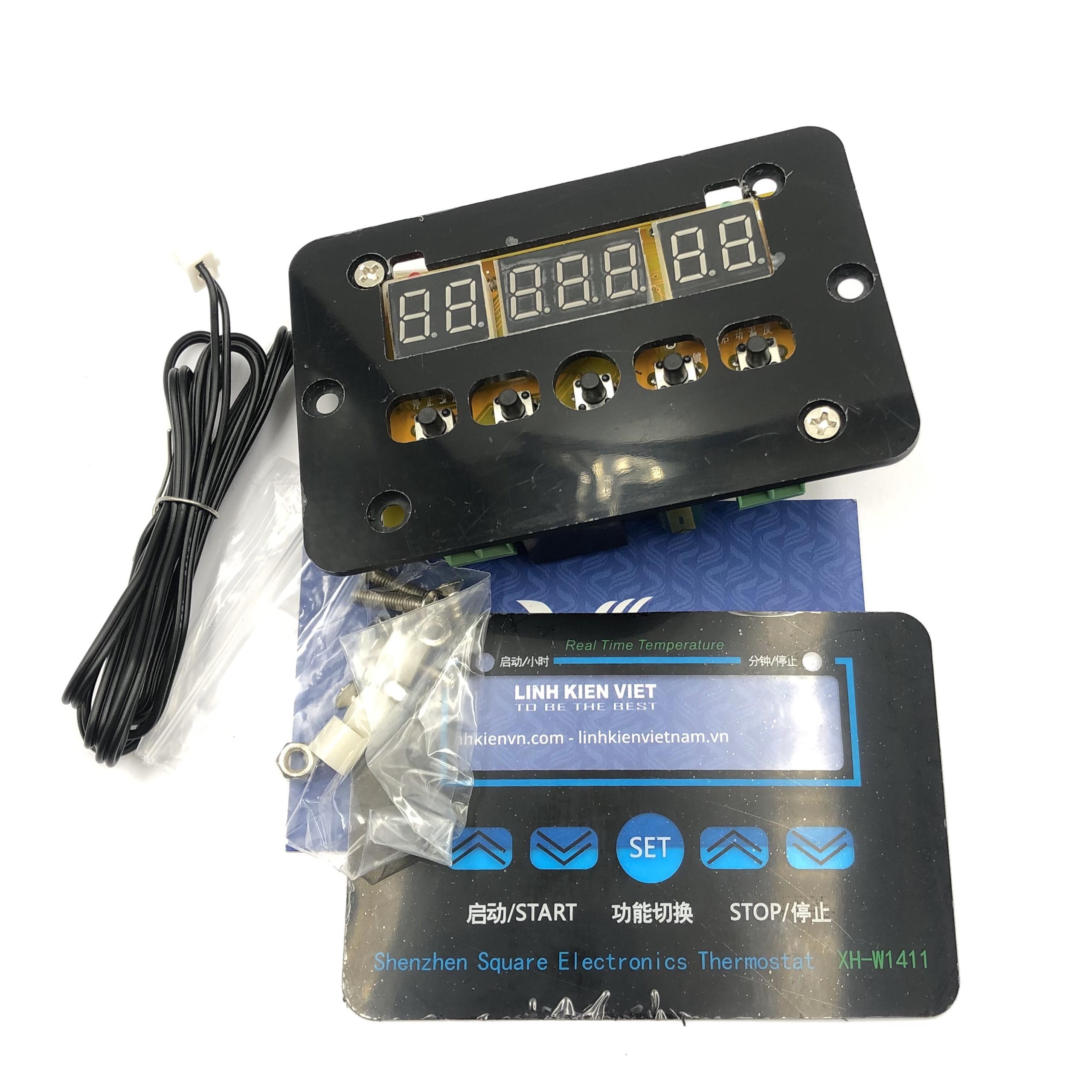 Mạch cảm biến nhiệt độ đóng ngắt thiết bị XH-W1411 12VDC