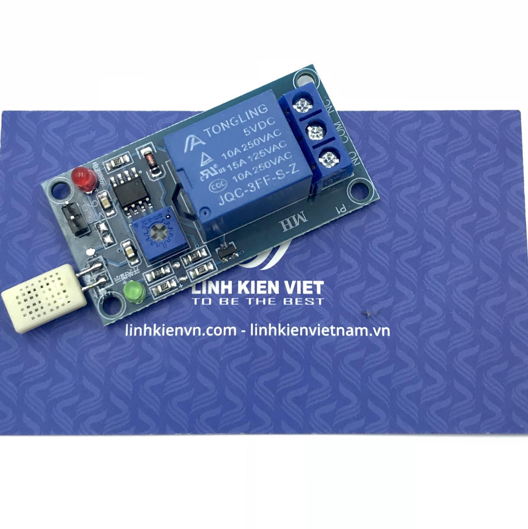 Module cảm biến độ ẩm có relay 5VDC - S1H23