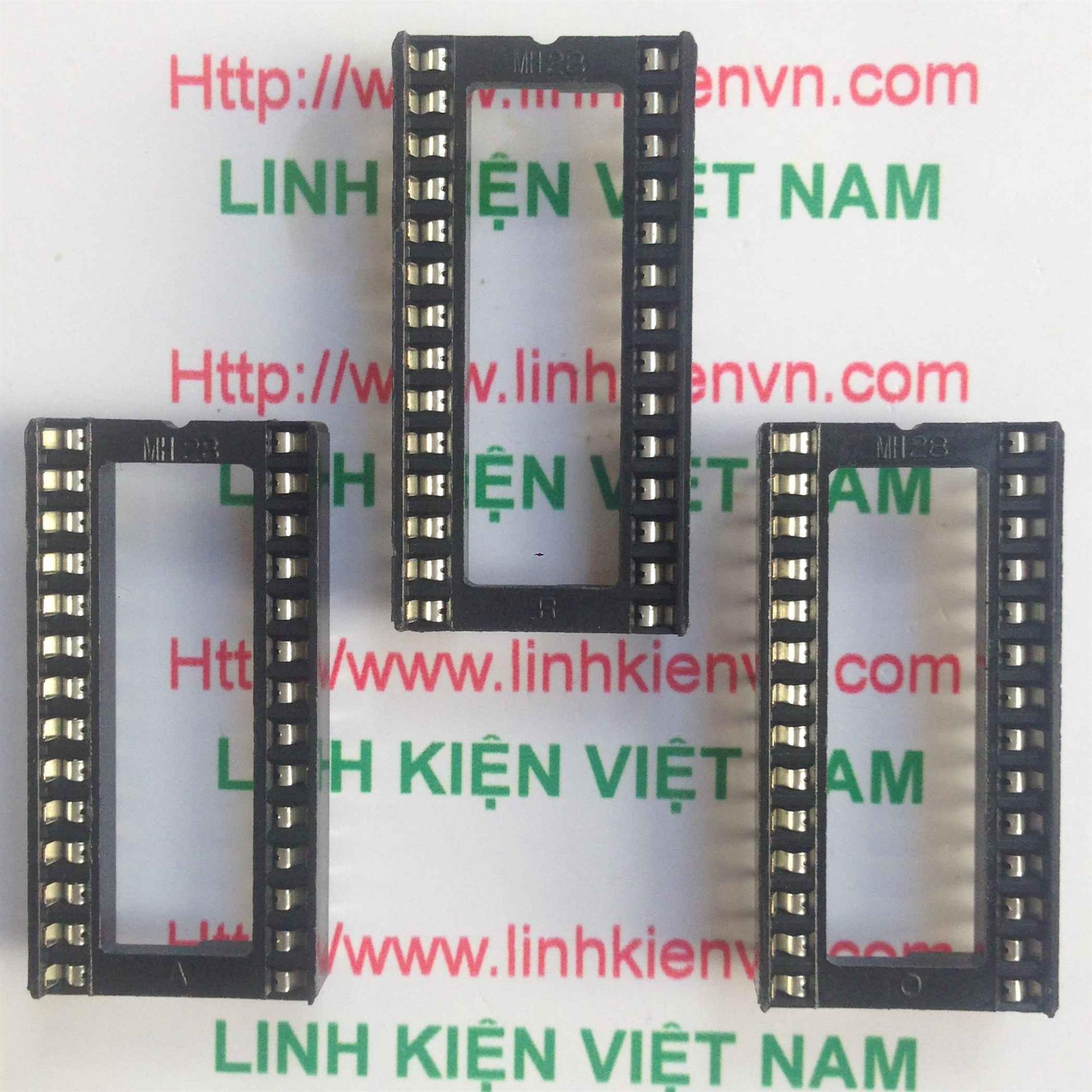 Đế IC DIP28 TO - B4H12