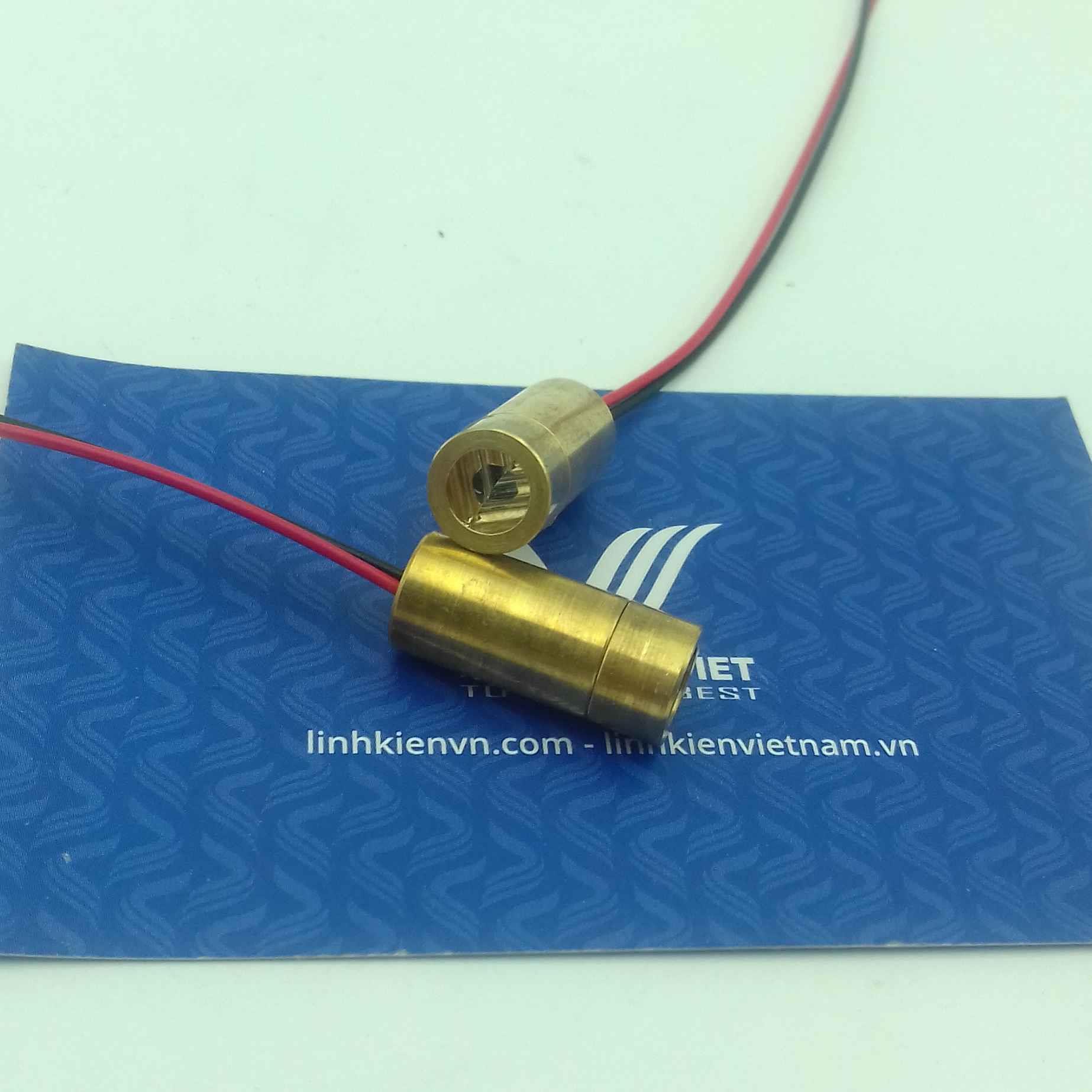 ĐÈN LED LASER 3V 9mm chữ thập - J3H3
