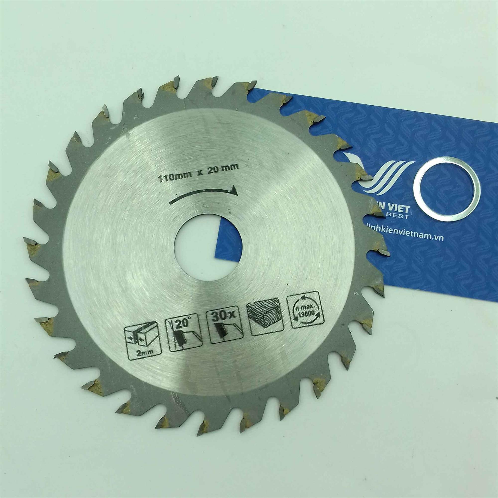 Đĩa cắt gỗ răng thô 4 inch / Lưỡi cưa gỗ / Lưỡi cắt gỗ - I5H20 (KA9H1)