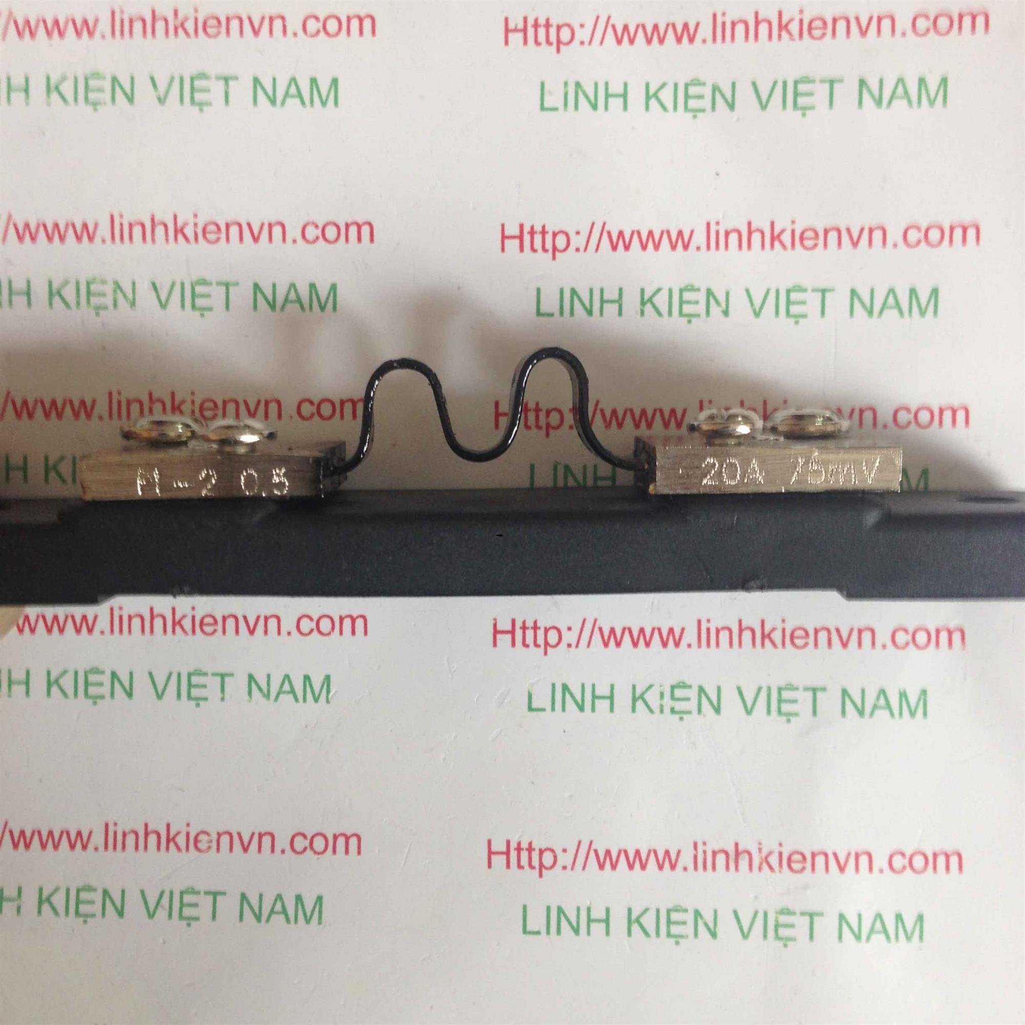 Điện Trở Shunt 20A75mV - B7H25