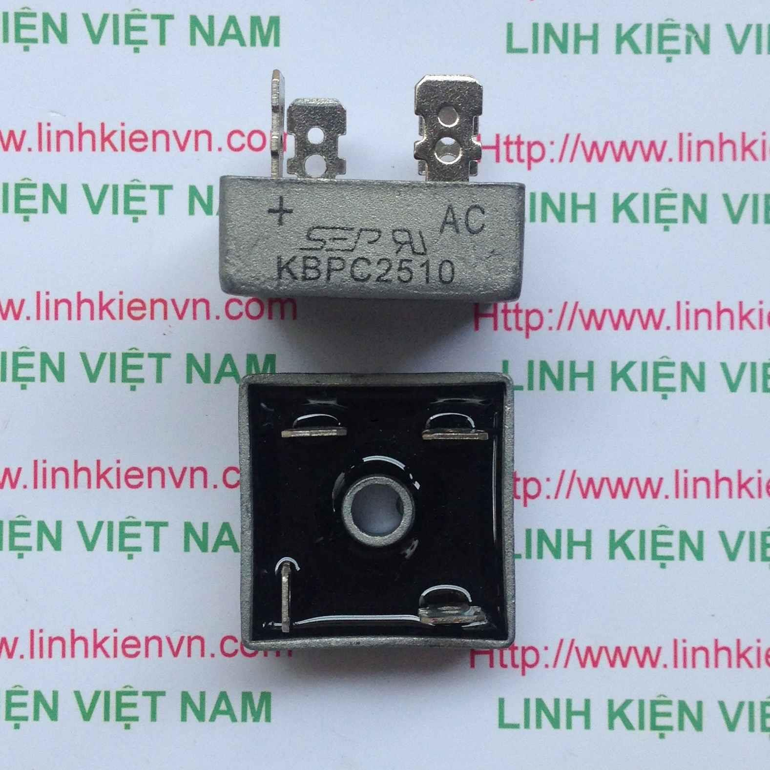Diode Cầu KBPC2510 25A 1000V - B6H18(KB3H3)