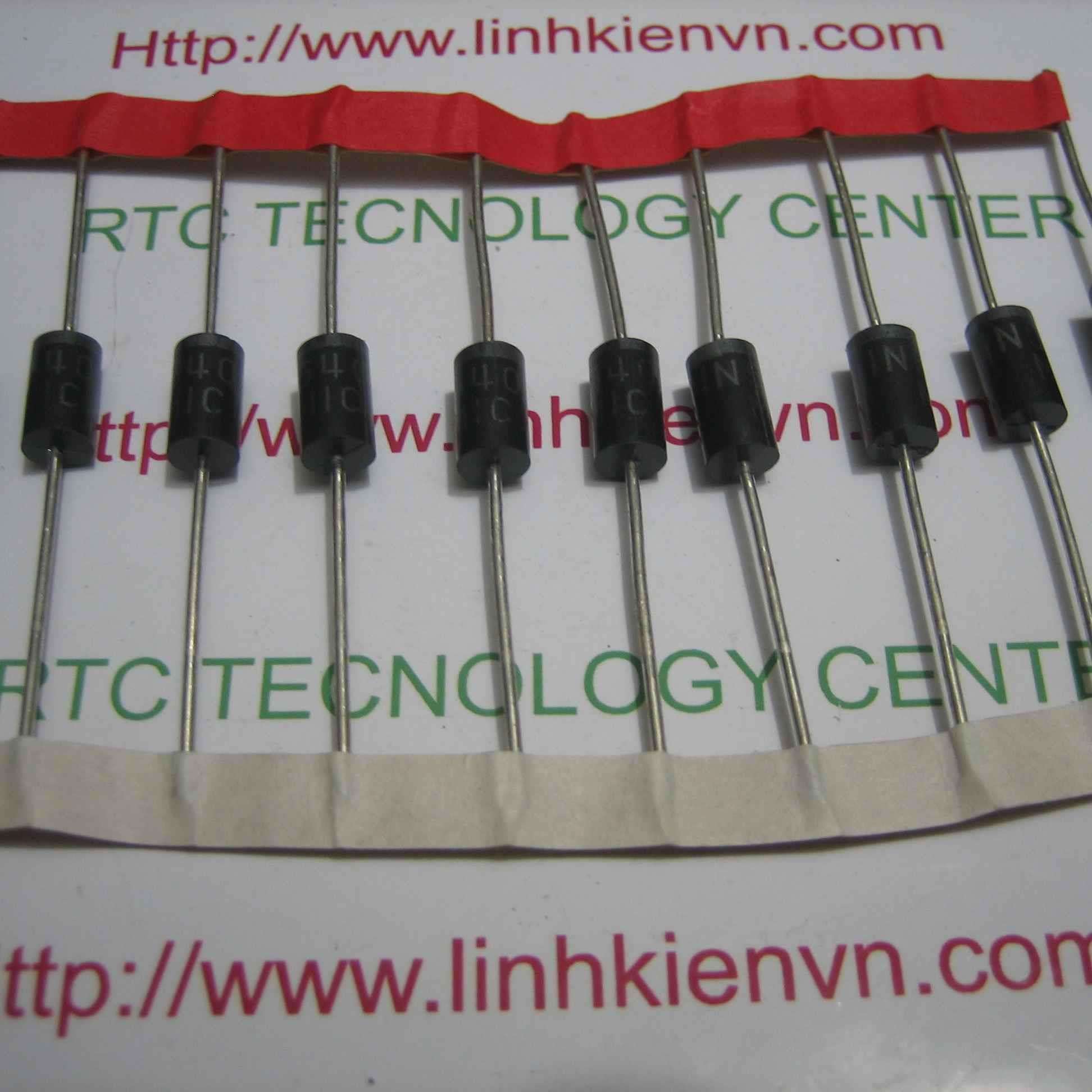 Diode chỉnh lưu 1N5408 3A 1000V / Diode 1N5408 - B6H9(KB3H3)