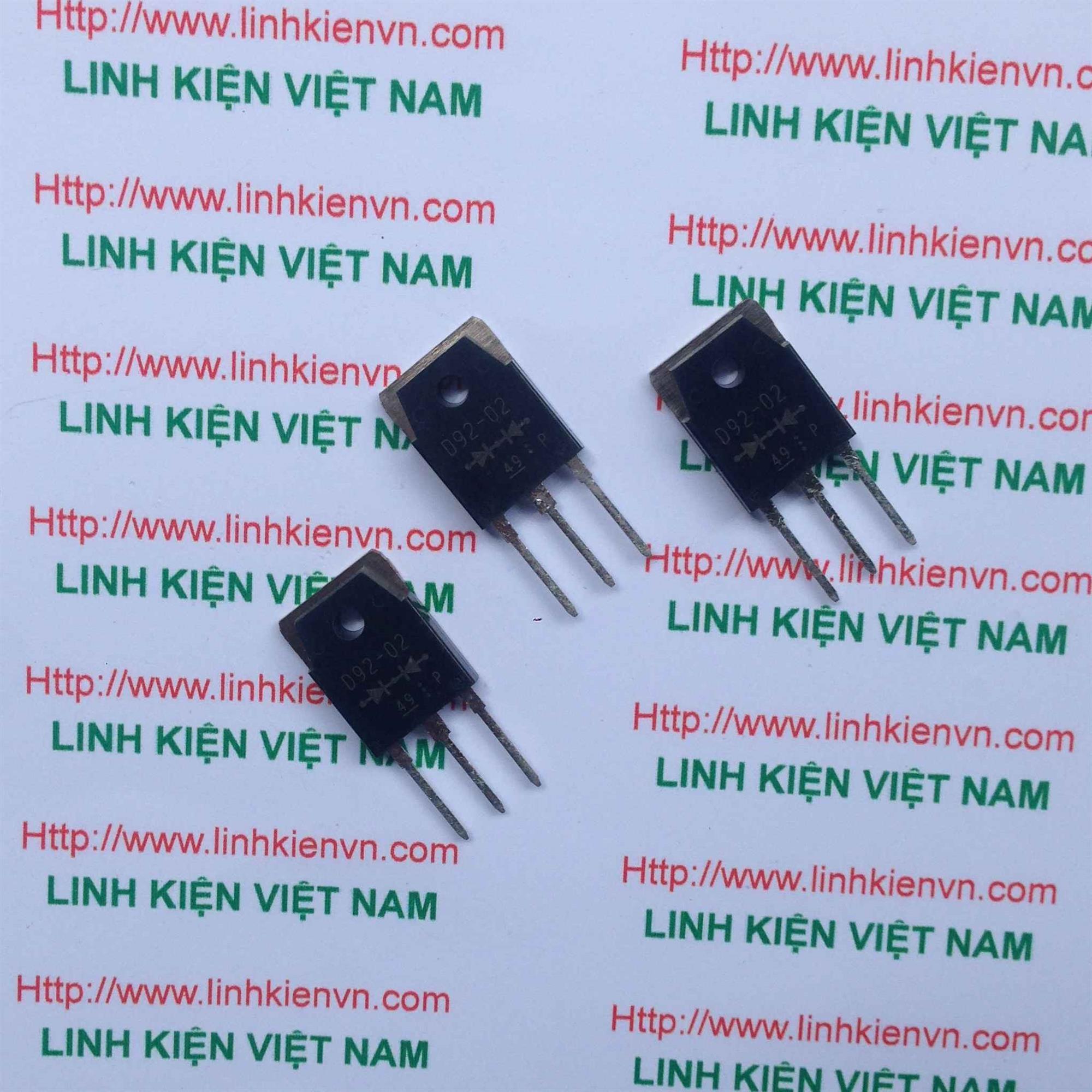 Diode xung D92-02 20A 220V/ Diode ultrafast D92-02 - G4H6