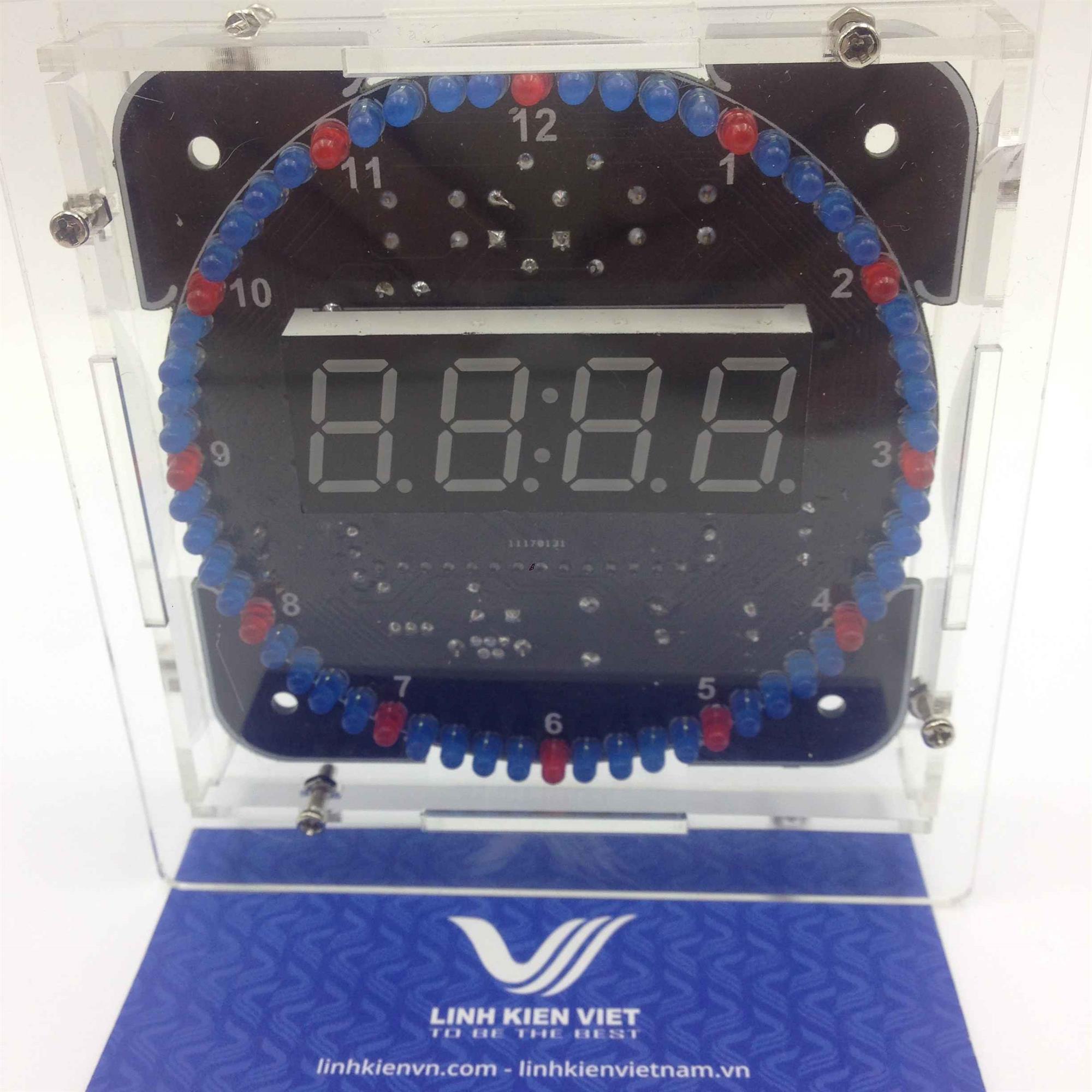 Đồng hồ điện tử trang trí tết nhiều hiệu ứng