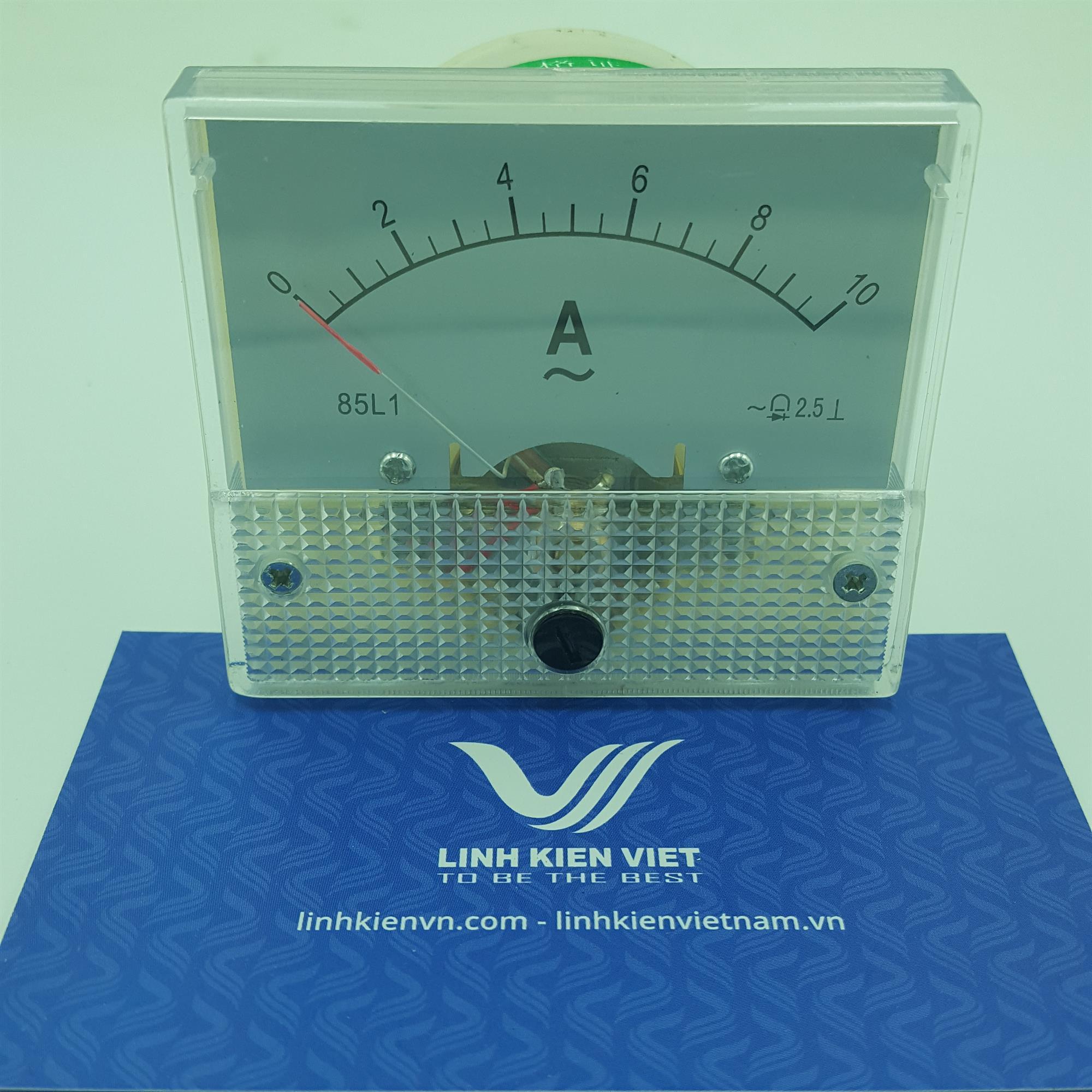 Đồng hồ đo dòng điện AC 85L1 10A/ Ampe kế 85L1 (0-10A) - J5H11