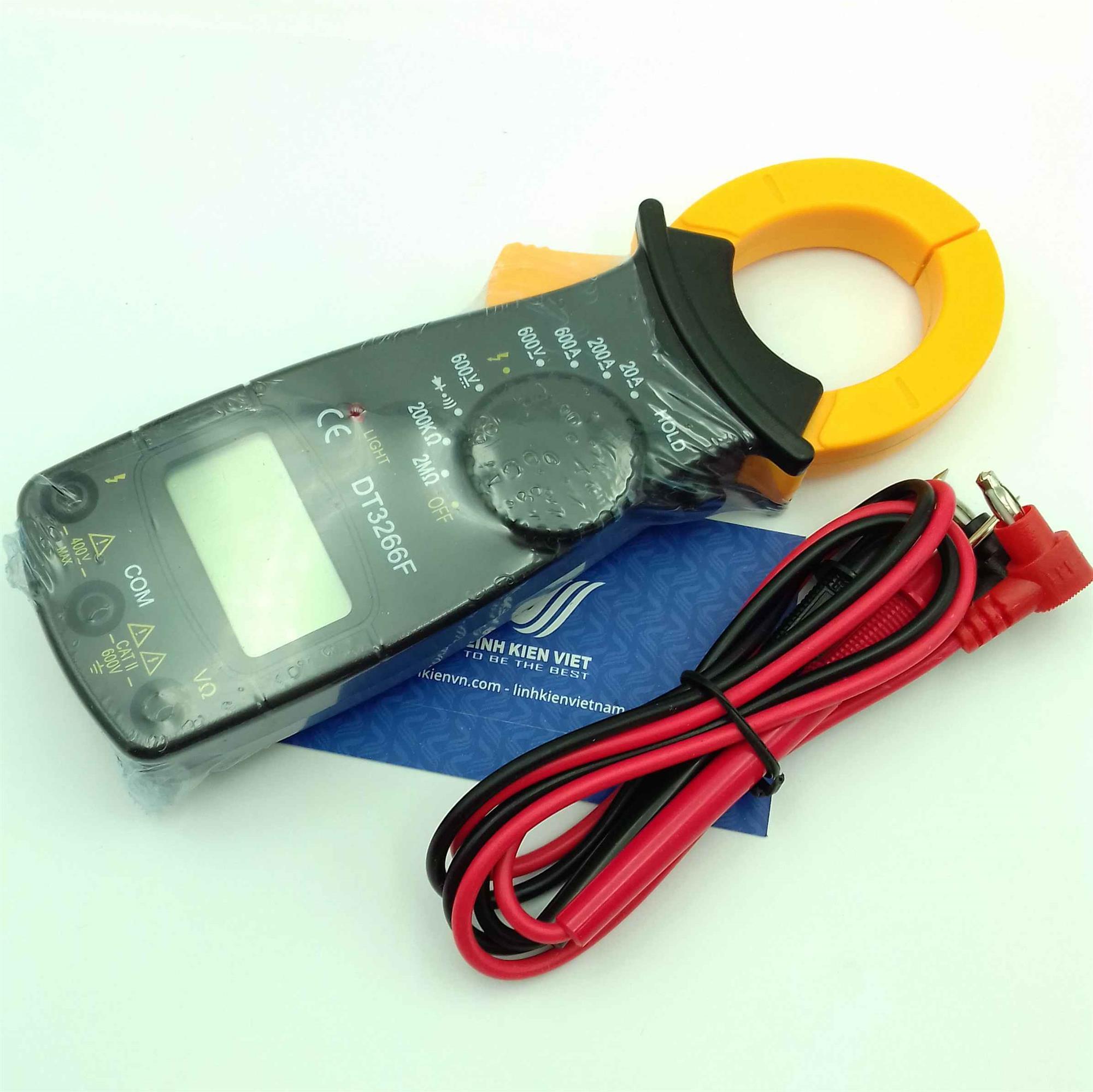 Ampe kìm DT3266L / đồng hồ kẹp dòng DT3266F  - KHO B