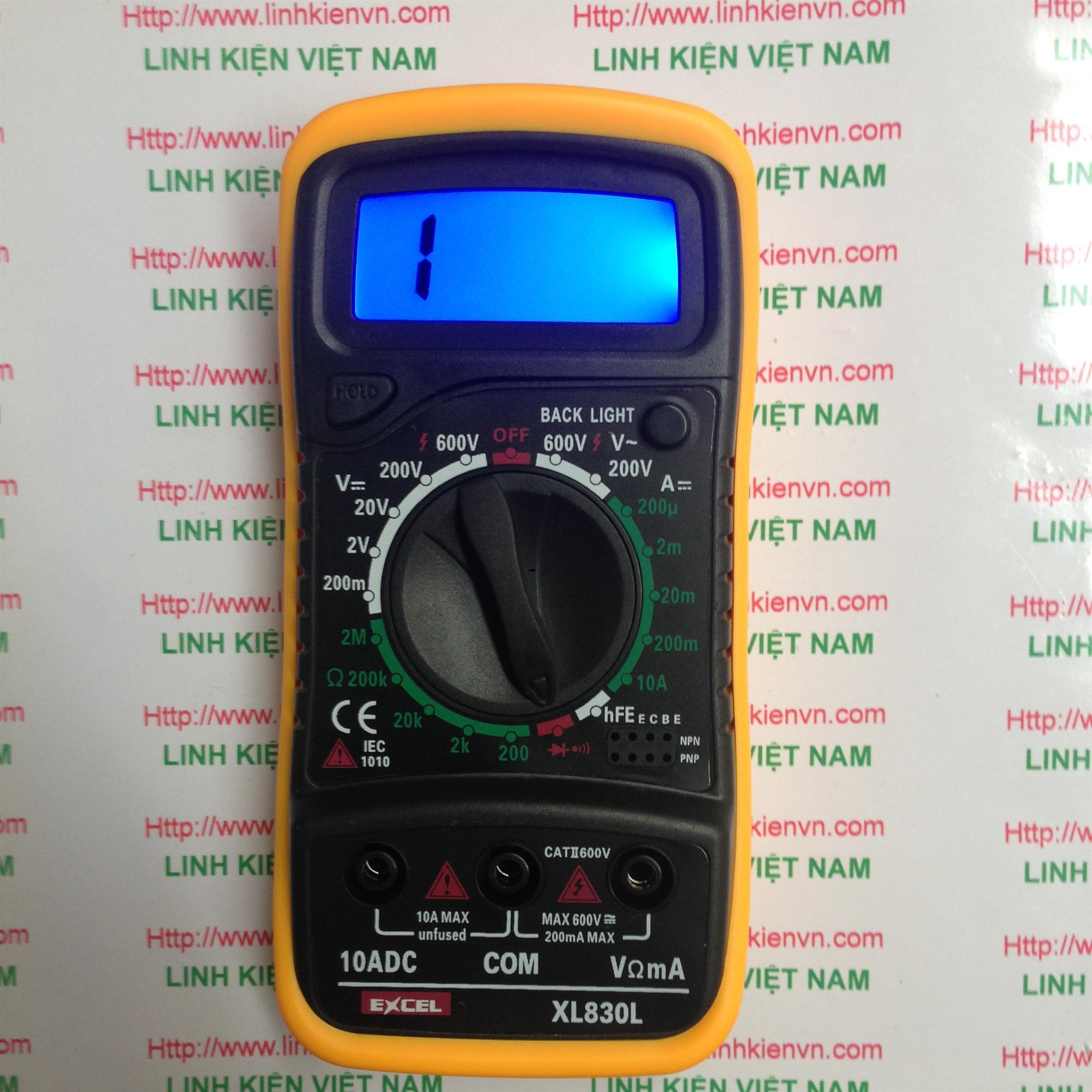 Đồng hồ vạn năng XL830L - KHO B