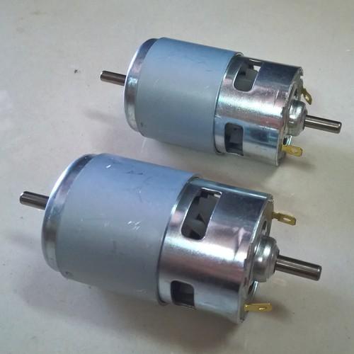 Motor RS775 / Động cơ 12V-24V / Motor hai đầu 12V-24V 5600 rpm - G8H19(KB10H3)