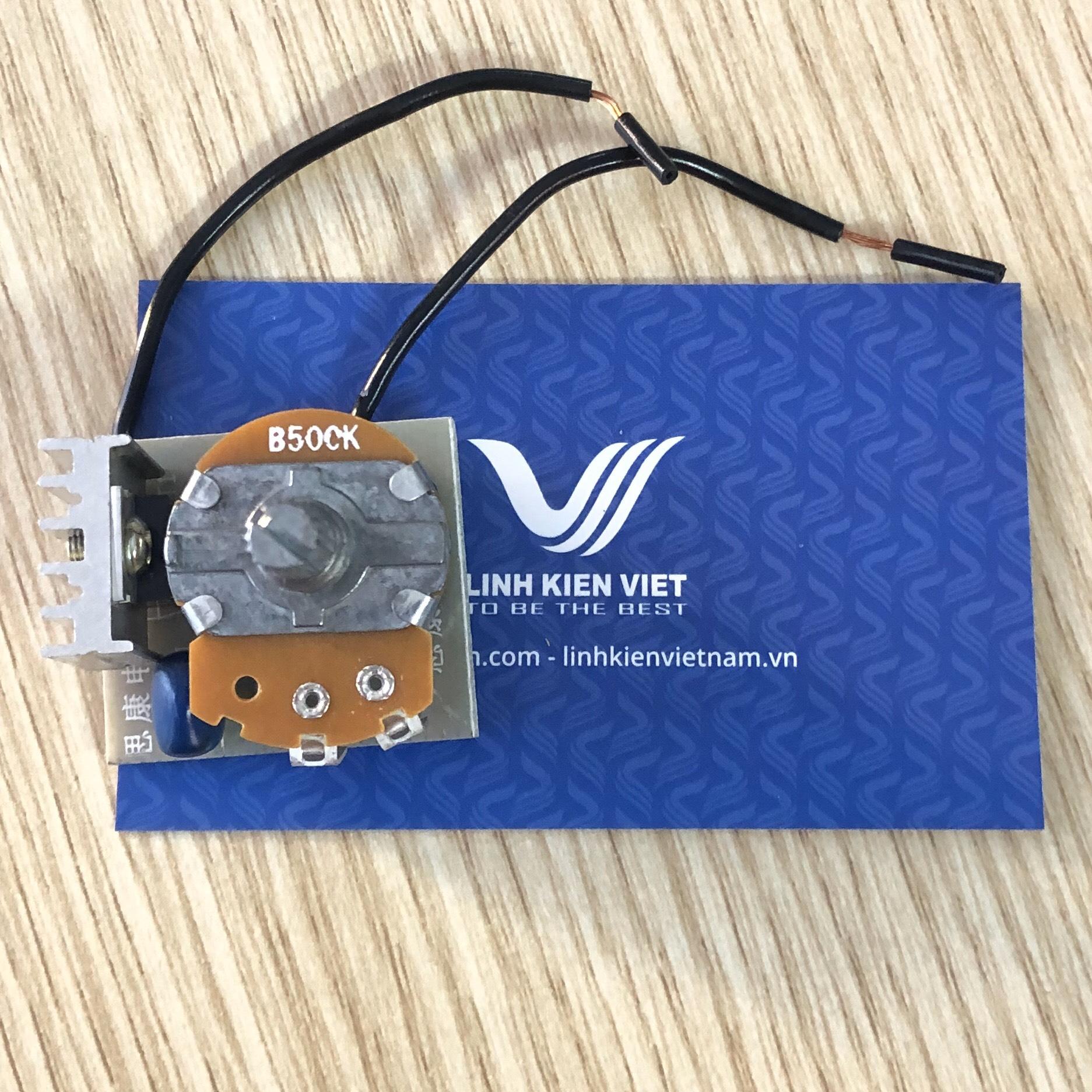 Mạch điều khiển Triac Dimmer AC220V 500W - G1H5