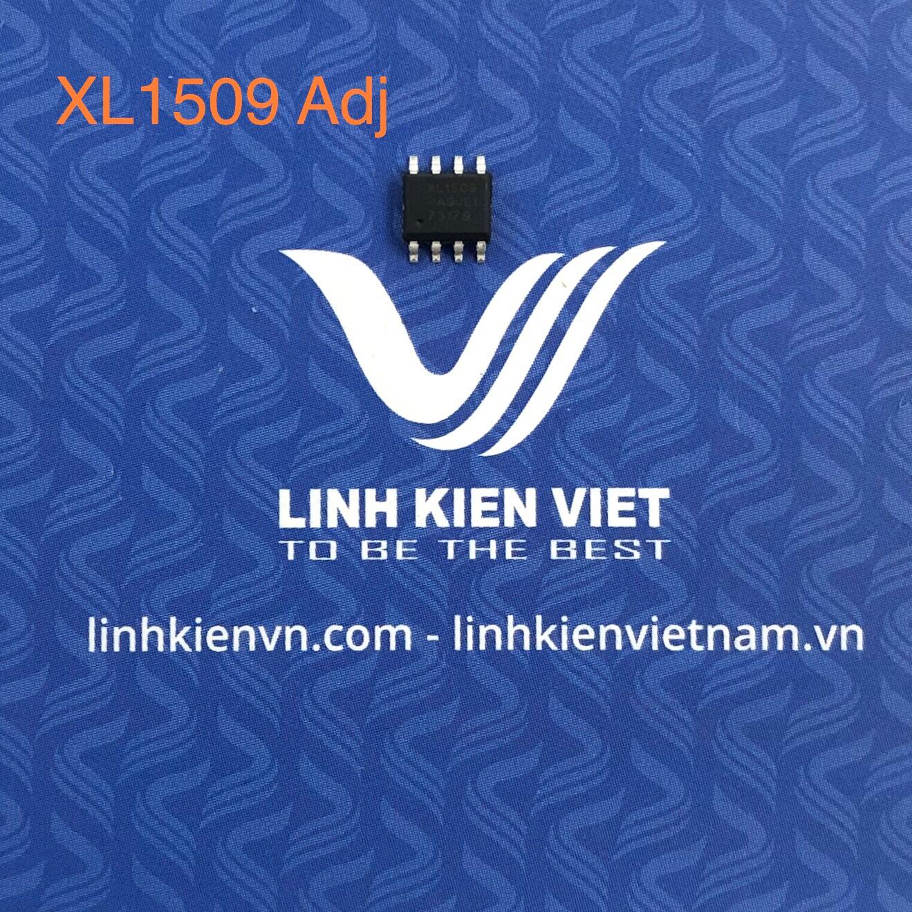 IC nguồn hạ áp DC-DC XL1509 Adj SOP8 - F8H3