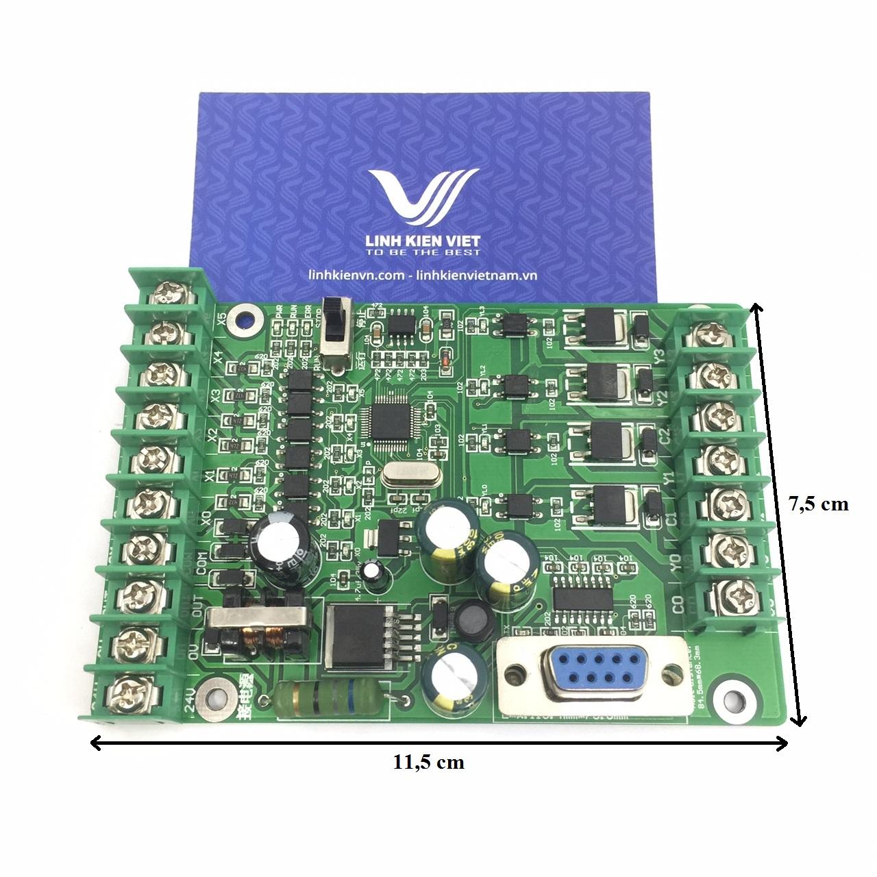 Board PLC FX1N 10MT - 24VDC