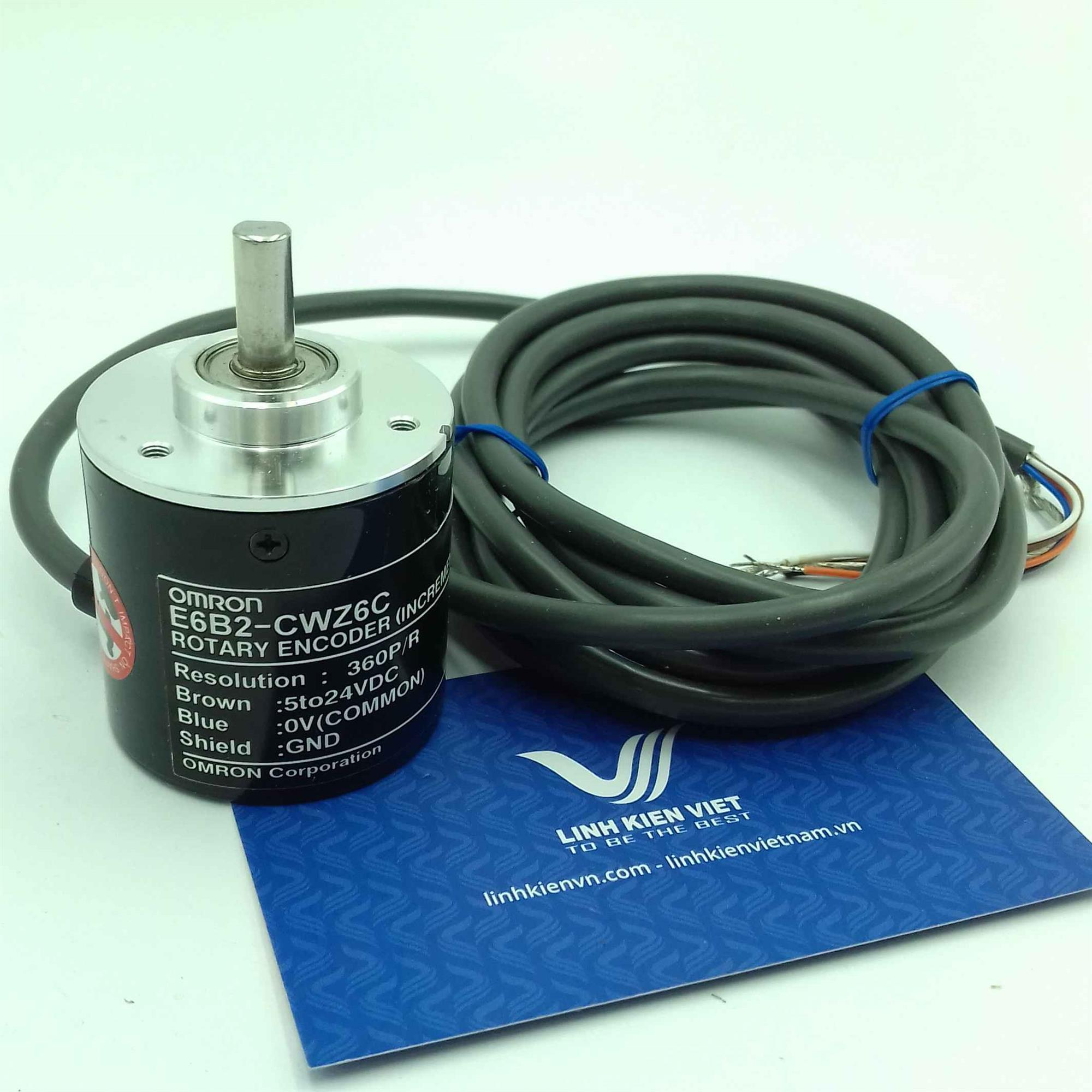 Encoder Omron E6B2-CWZ6C 360 xung