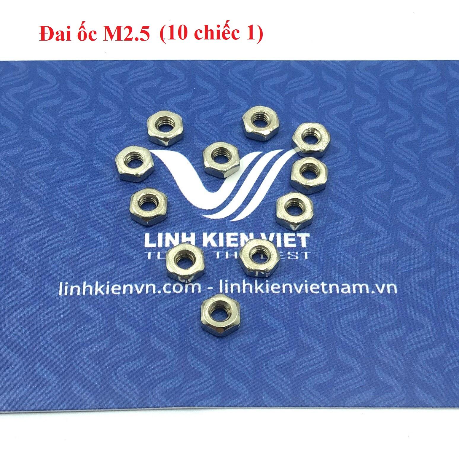 Đai ốc M2.5 (10 chiếc) - F9H11