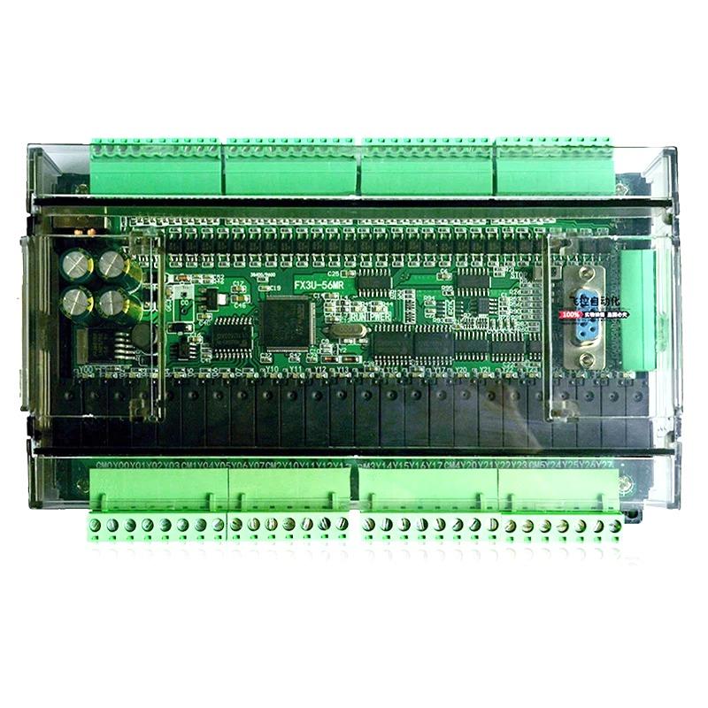 BOARD PLC FX3U-56MR 32 IN 24 OUT CÓ VỎ TÍCH HỢP 6AD-2DA