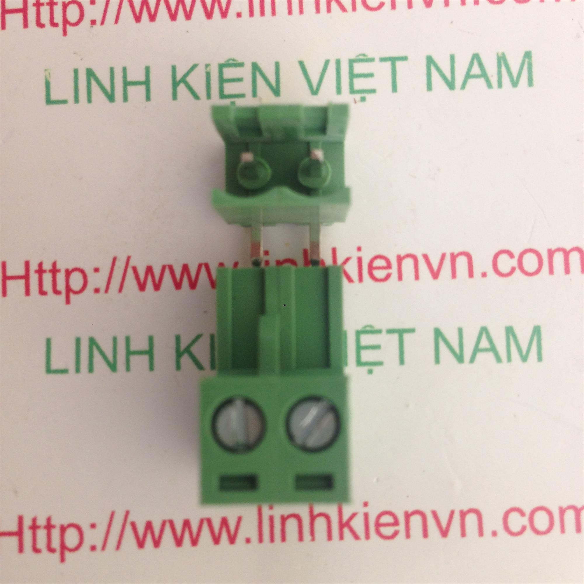 Cầu đấu 2 5.08mm EDG5.08-2P CONG - D8H10