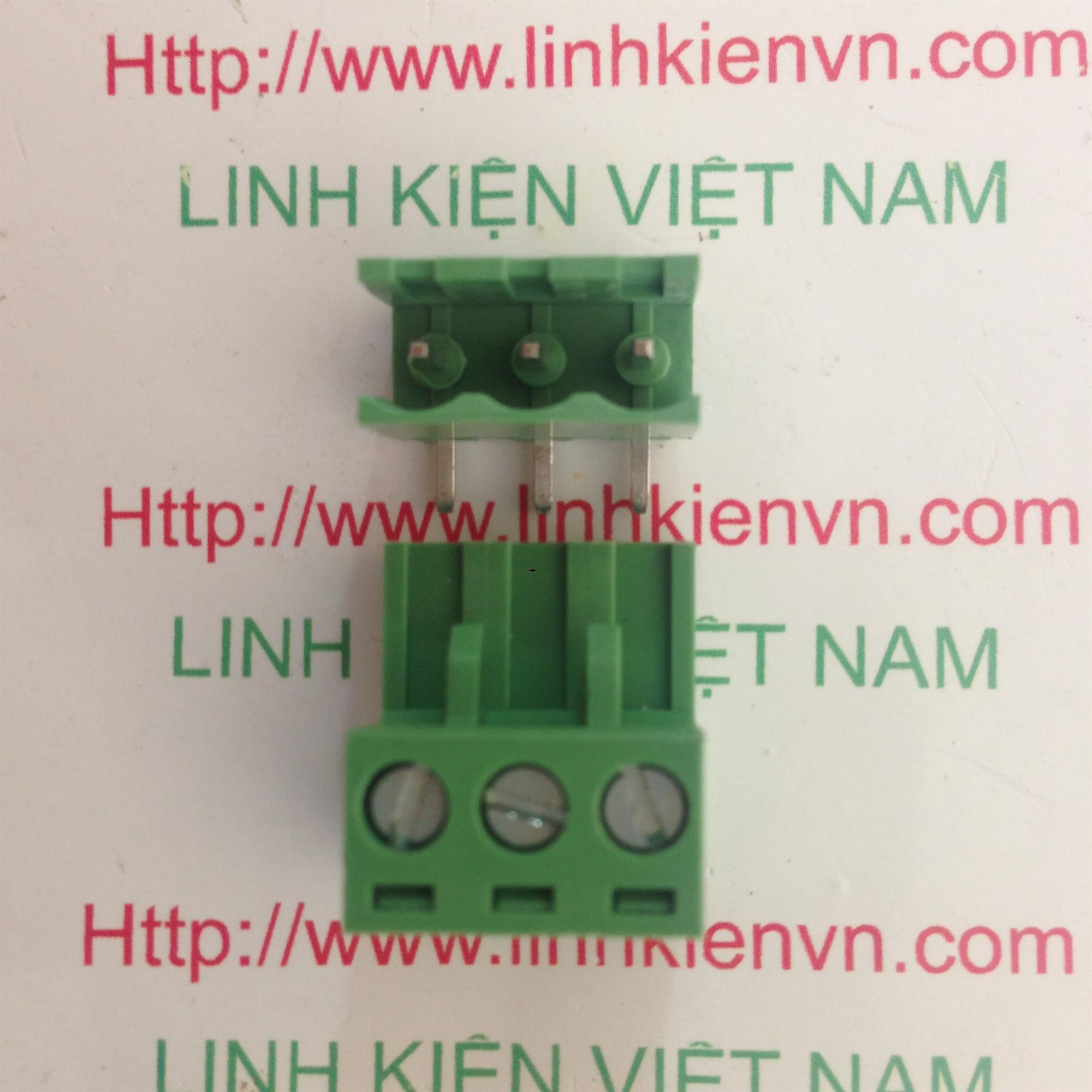 Cầu đấu 3 5.08mm EDG5.08-3P CONG - D8H11