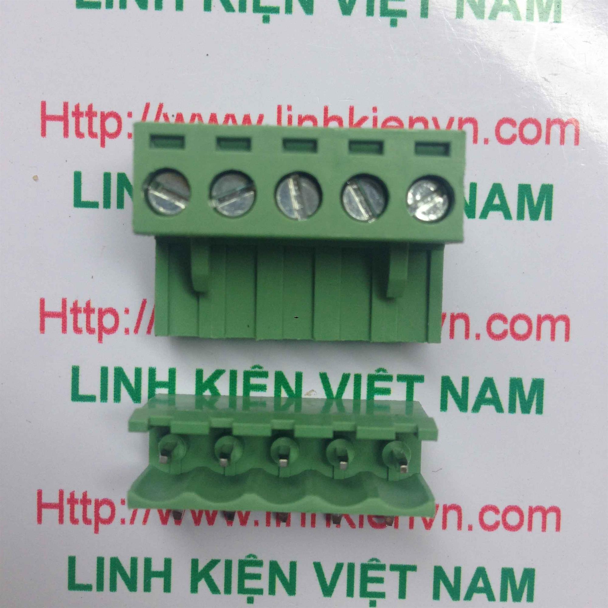 Cầu đấu 5 5.08mm EDG5.08-5P CONG - D7H10