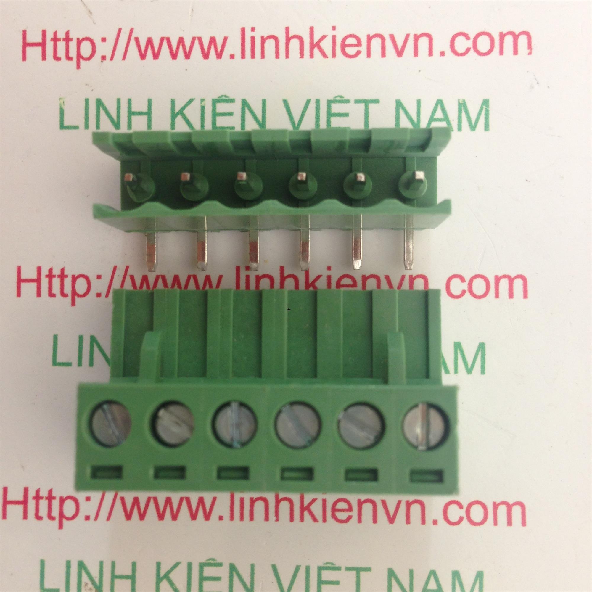 Cầu đấu 6 5.08mm EDG5.08-6P CONG - D7H10
