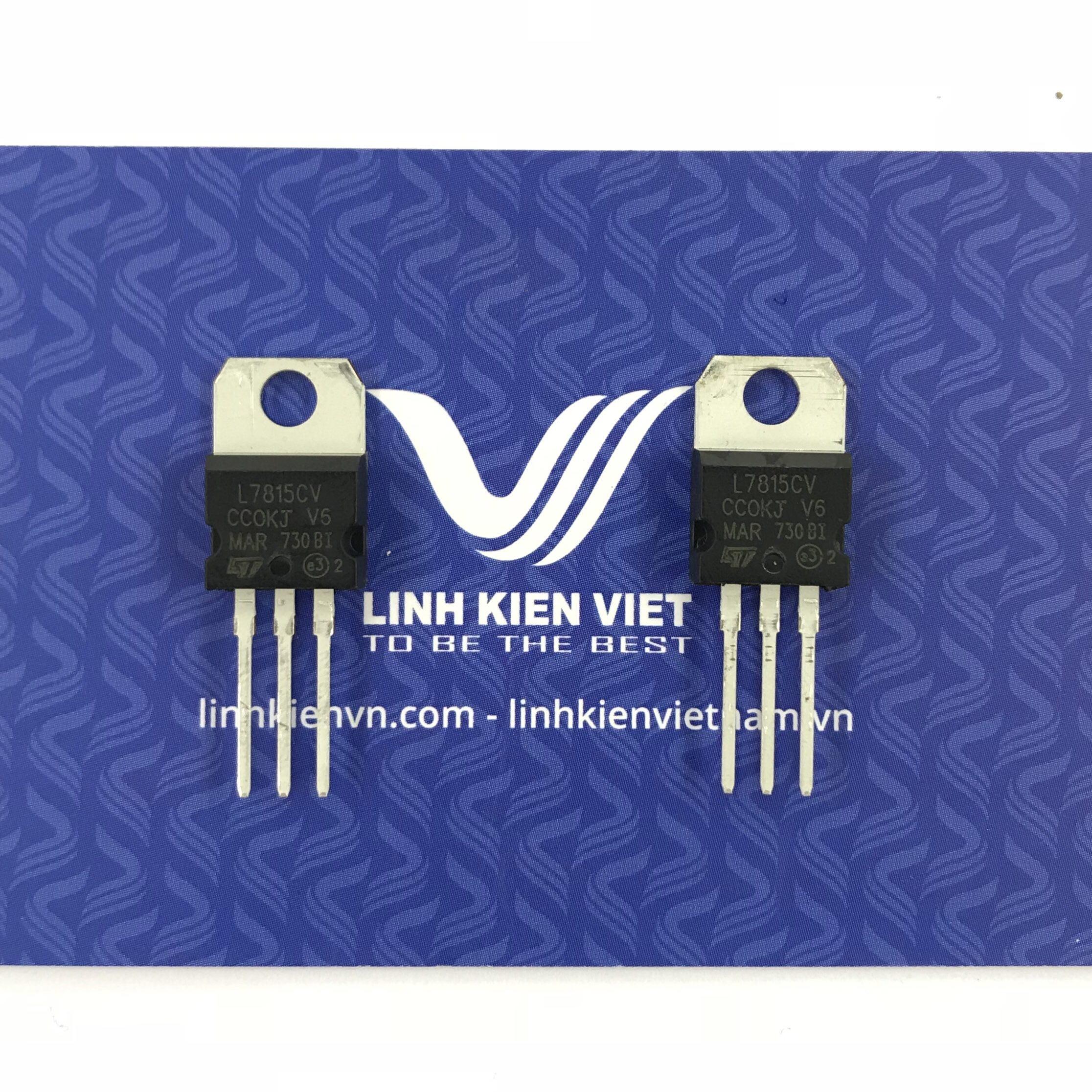 IC nguồn LM7815 TO220 - B5H19