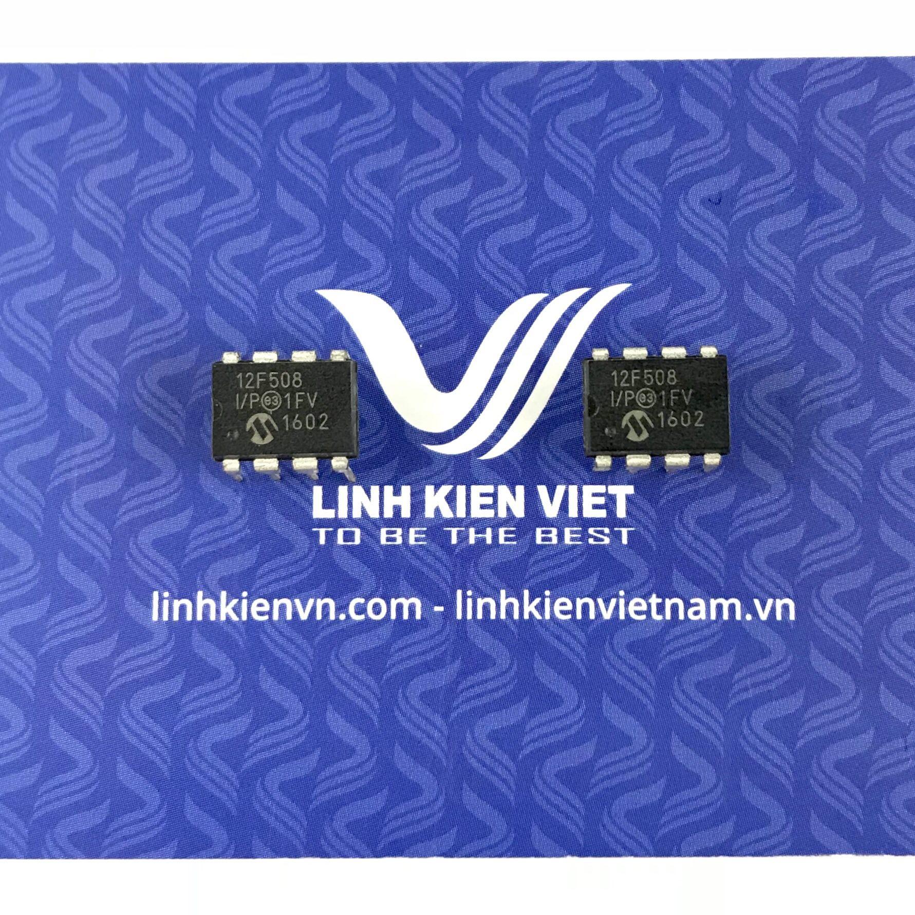 IC PIC12F508 Microchip - DIP8 - F1H4