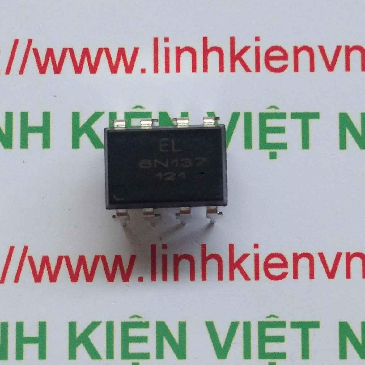 IC cách li quang 6N137 DIP6 chính hãng Everlight - F4H1