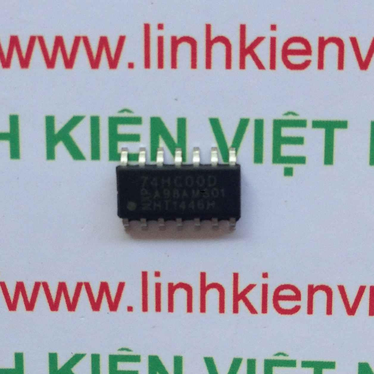 IC 74HC00 - SMD/SOT402-1 - F1H14