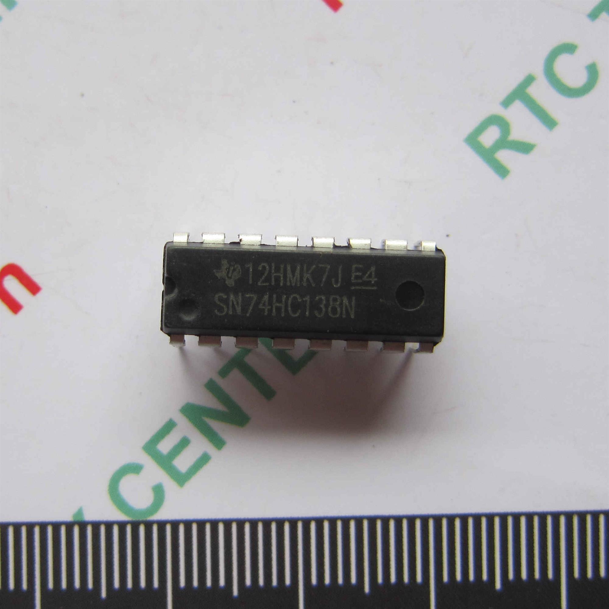 IC 74HC138 DIP16 - F2H4